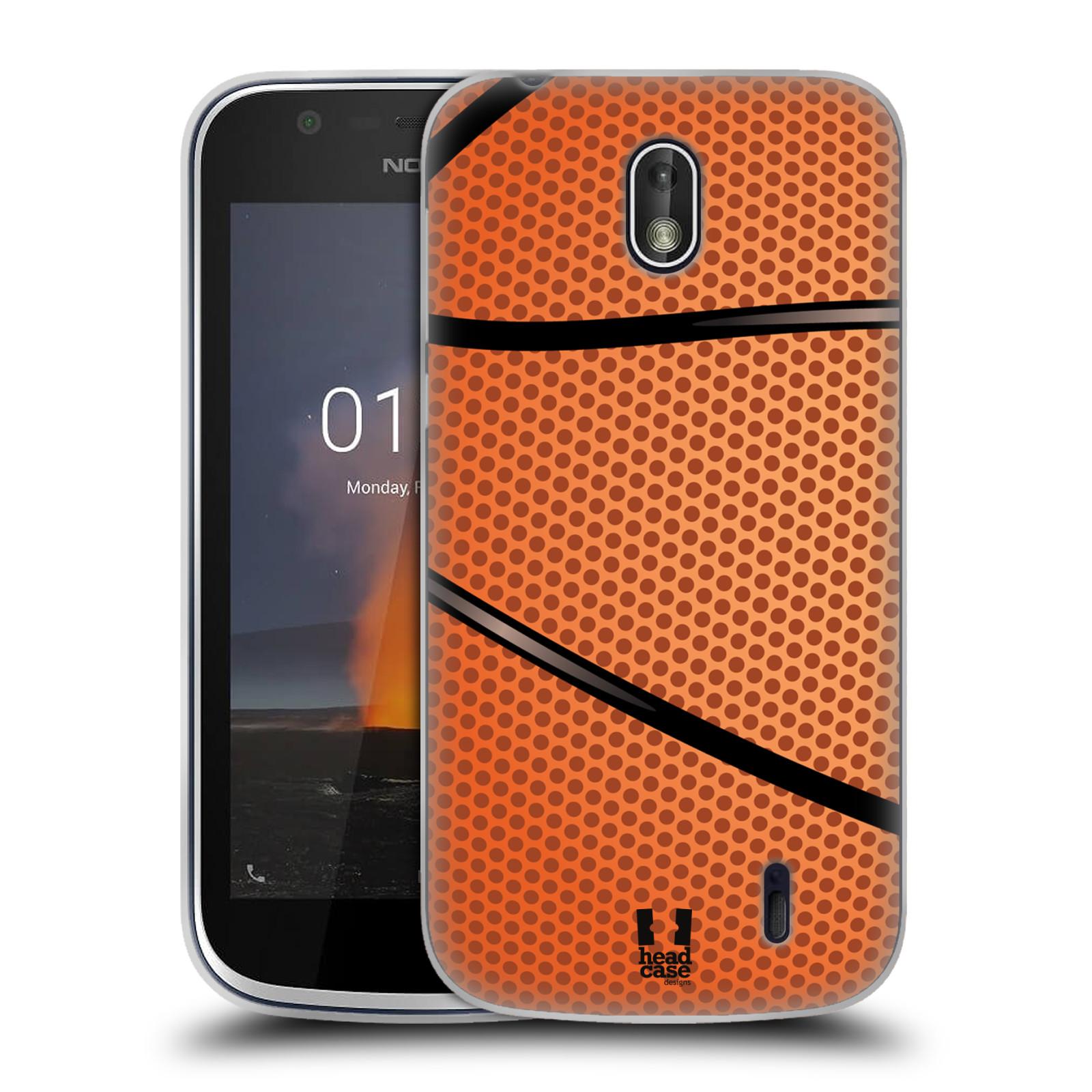 Silikonové pouzdro na mobil Nokia 1 - Head Case - BASKEŤÁK