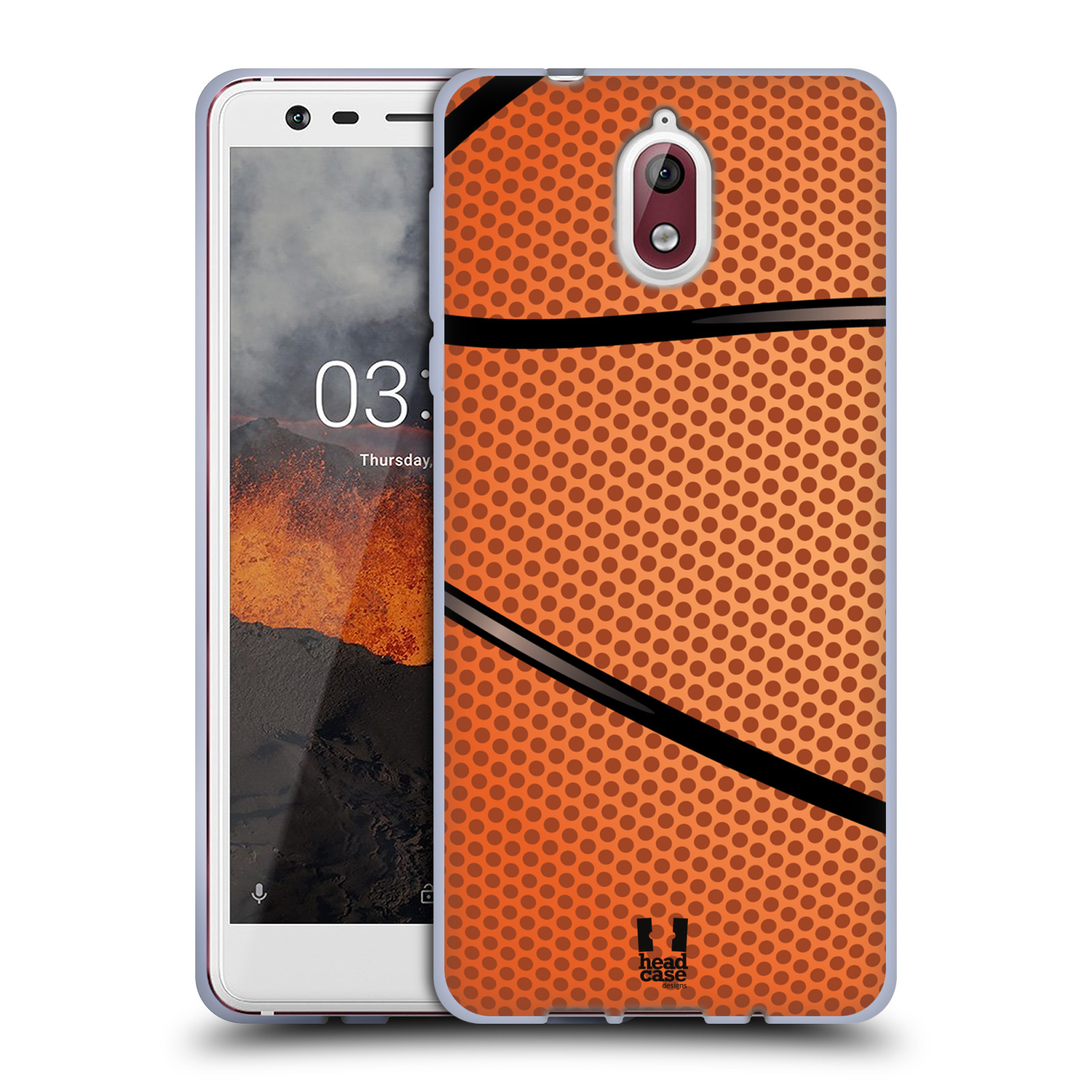 Silikonové pouzdro na mobil Nokia 3.1 - Head Case - BASKEŤÁK
