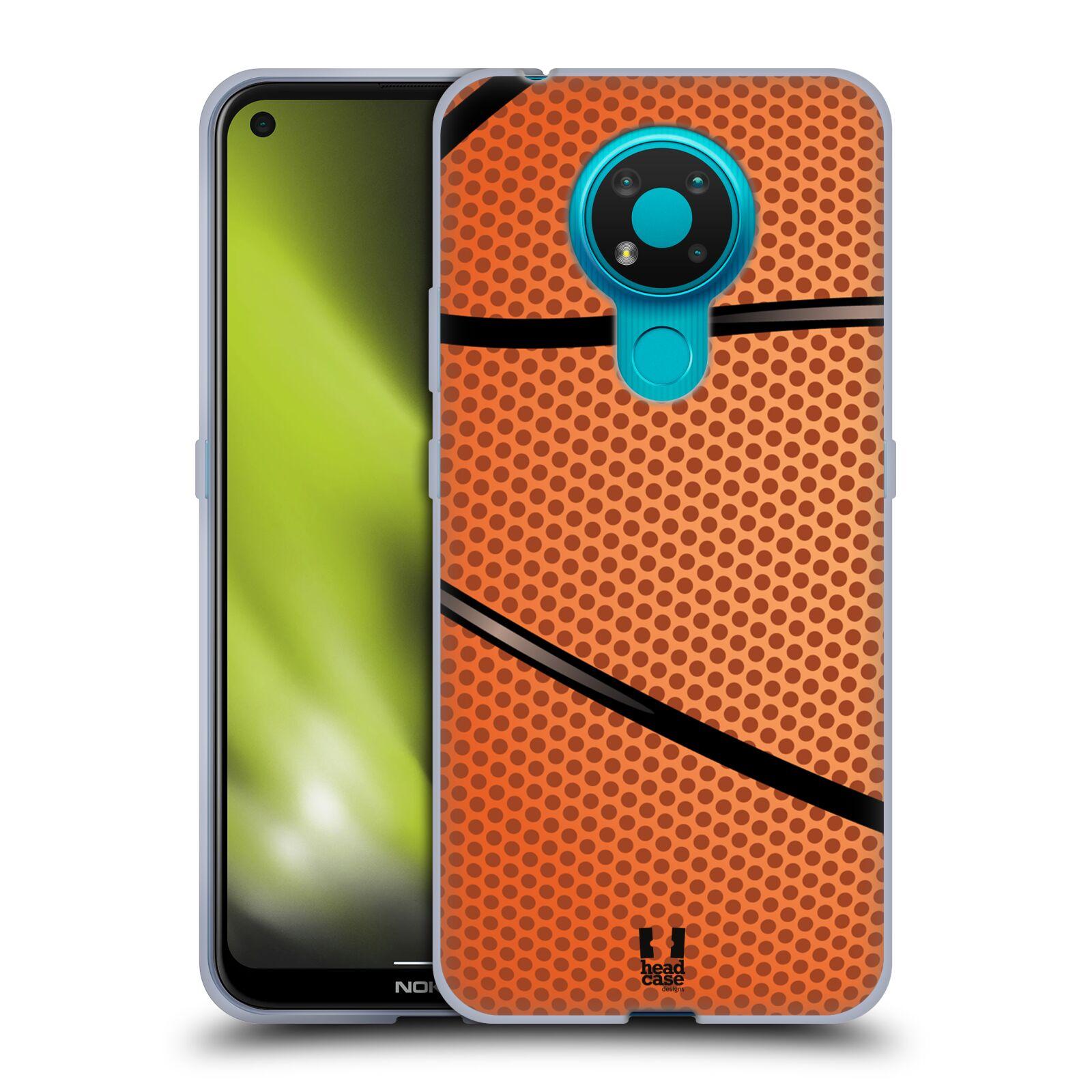 Silikonové pouzdro na mobil Nokia 3.4 - Head Case - BASKEŤÁK