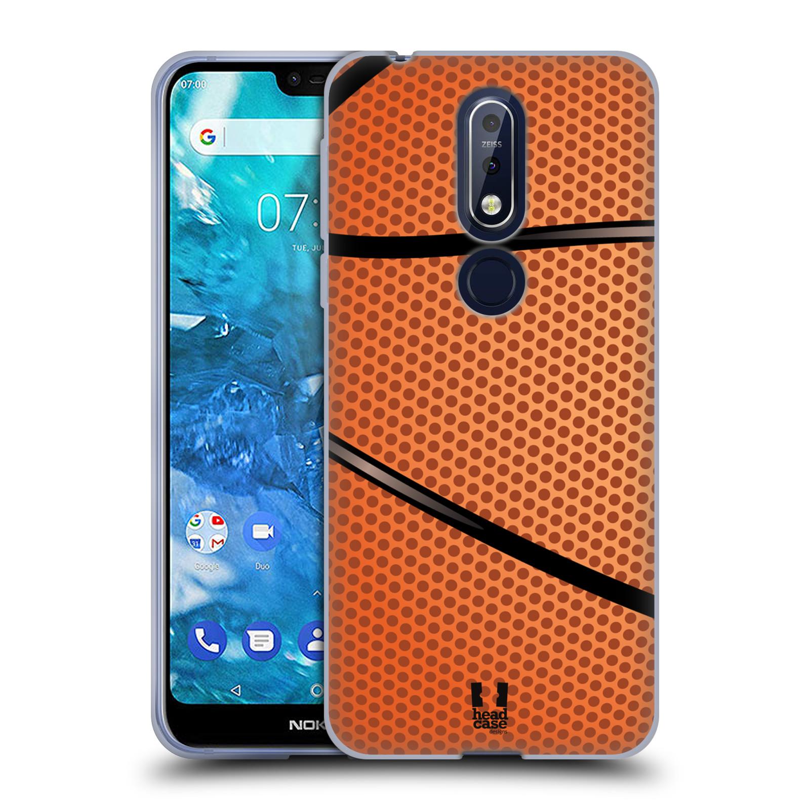 Silikonové pouzdro na mobil Nokia 7.1 - Head Case - BASKEŤÁK