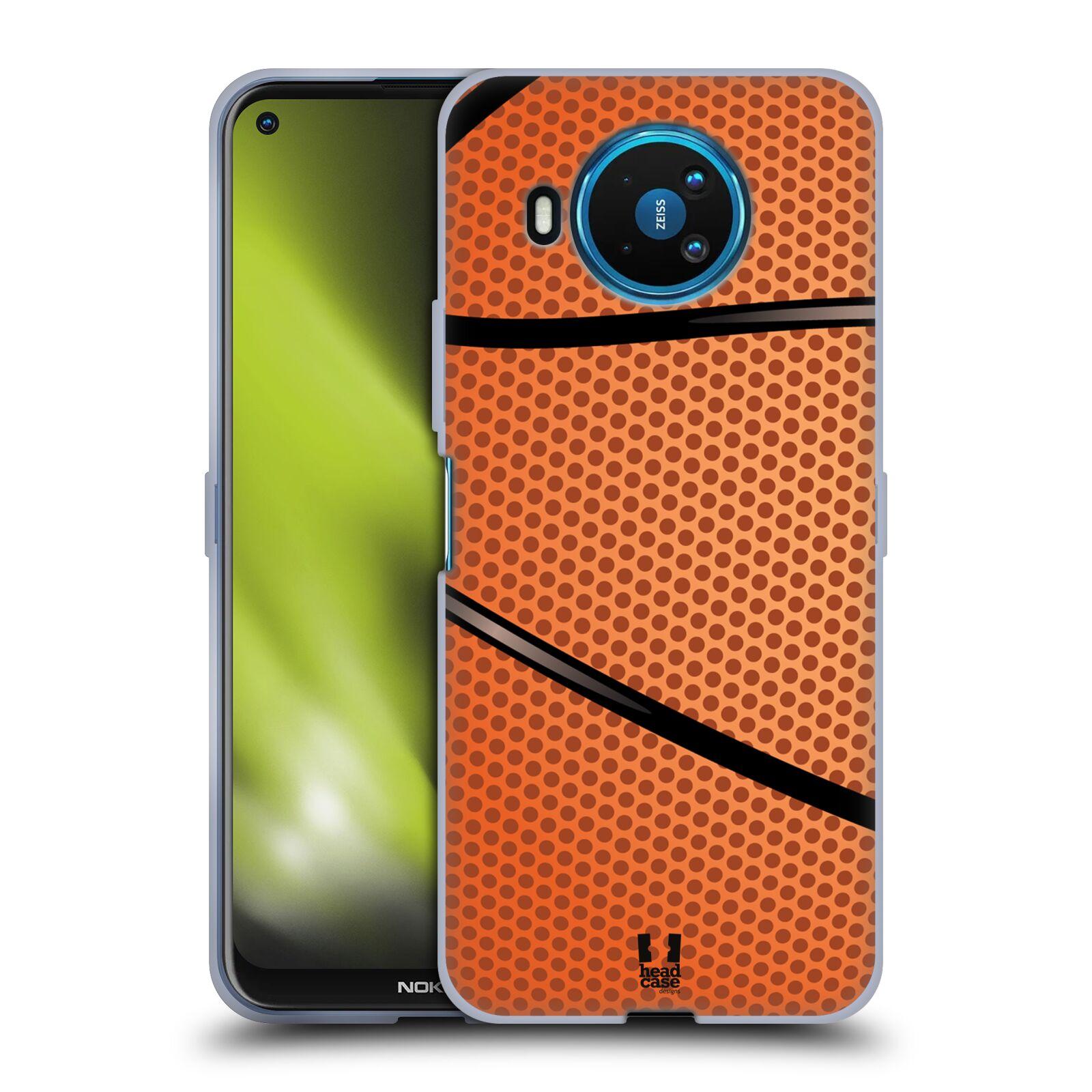 Silikonové pouzdro na mobil Nokia 8.3 5G - Head Case - BASKEŤÁK