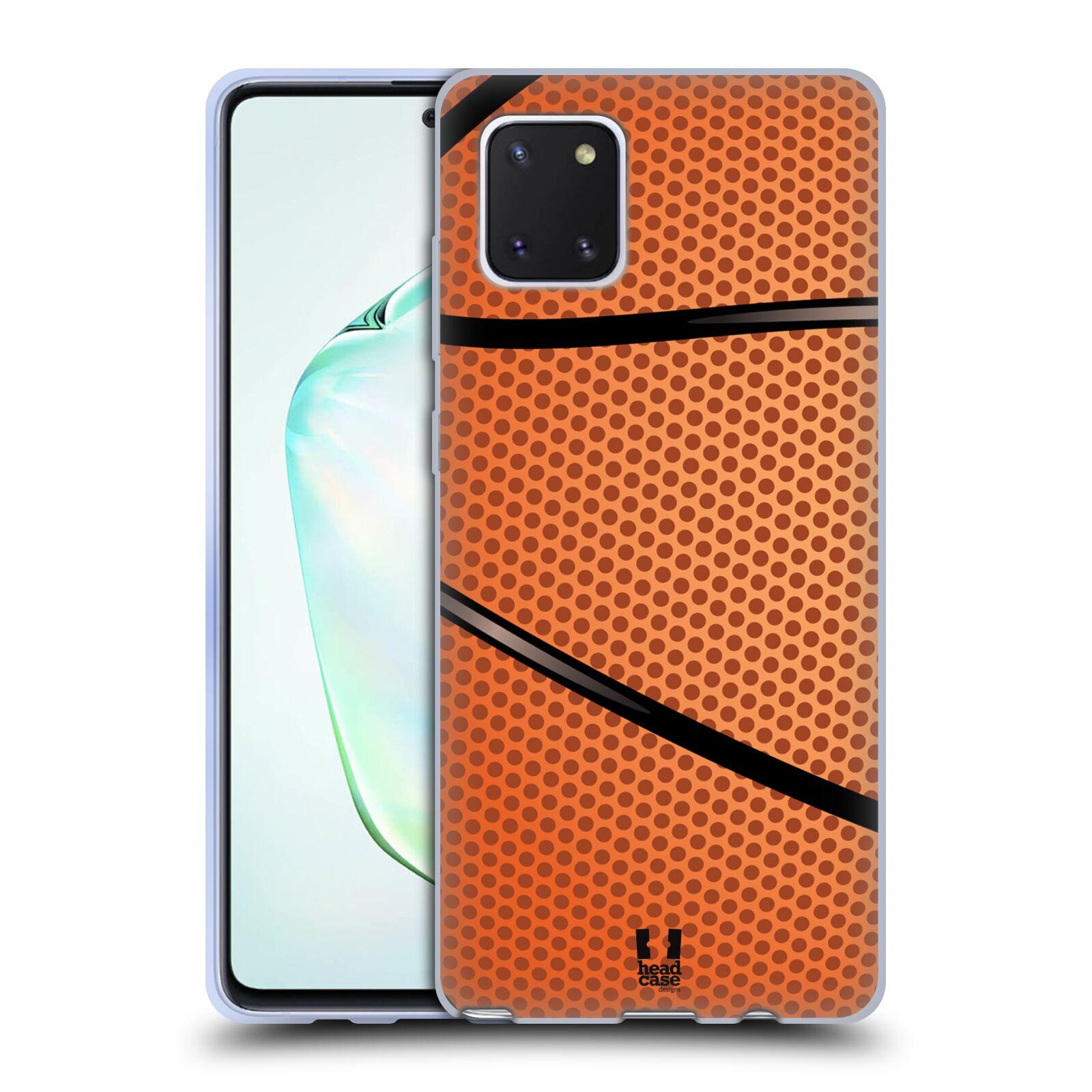 Silikonové pouzdro na mobil Samsung Galaxy Note 10 Lite - Head Case - BASKEŤÁK