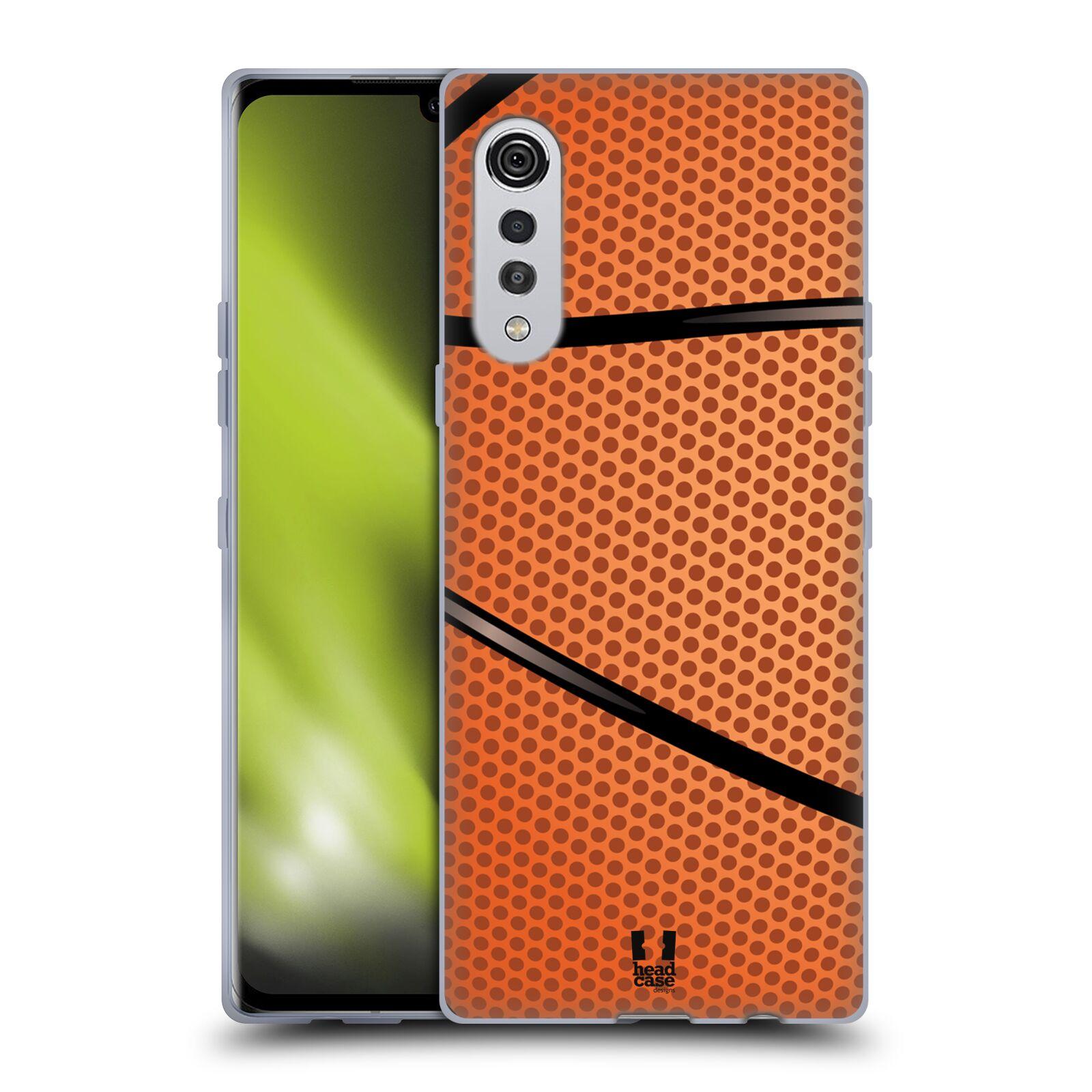 Silikonové pouzdro na mobil LG Velvet - Head Case - BASKEŤÁK