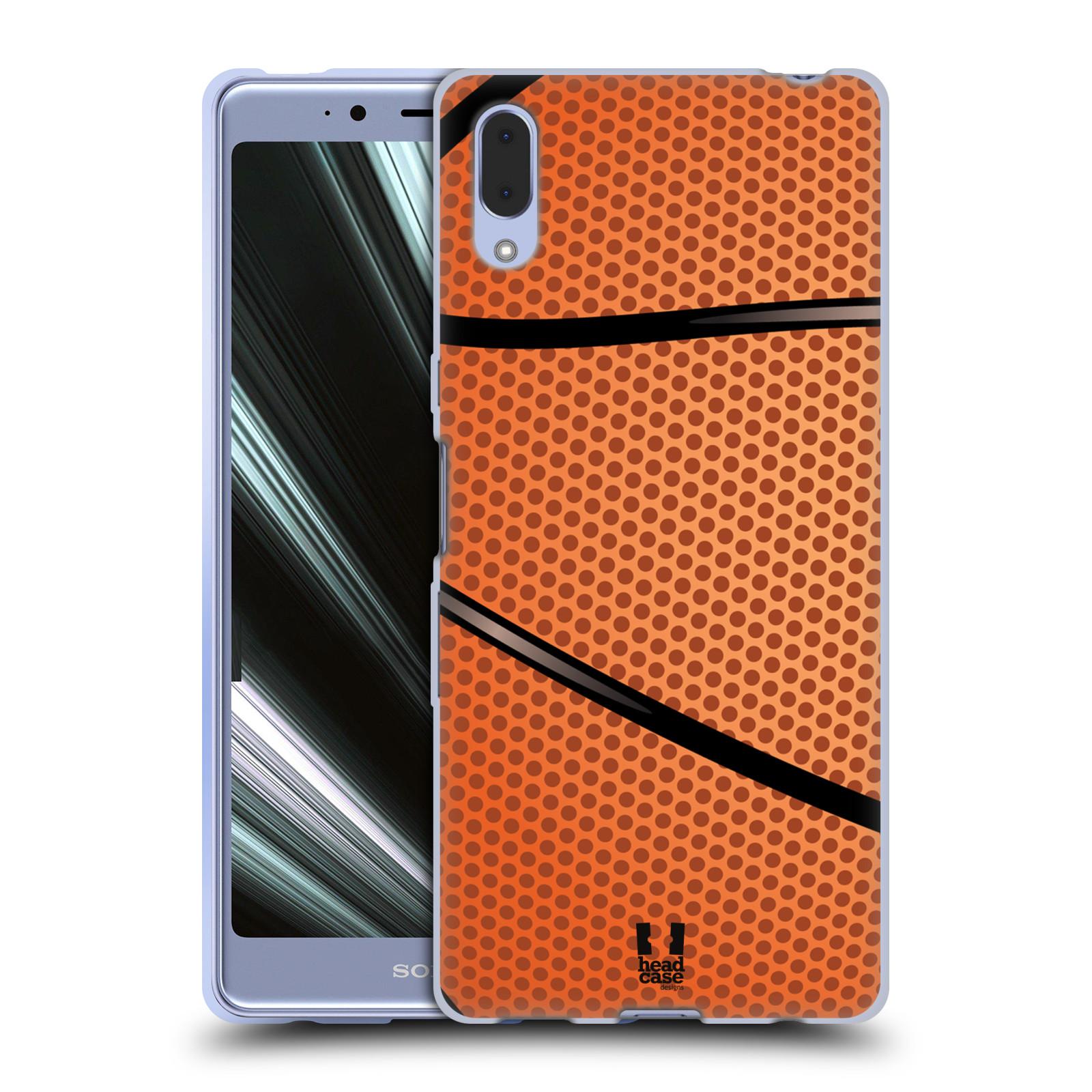 Silikonové pouzdro na mobil Sony Xperia L3 - Head Case - BASKEŤÁK
