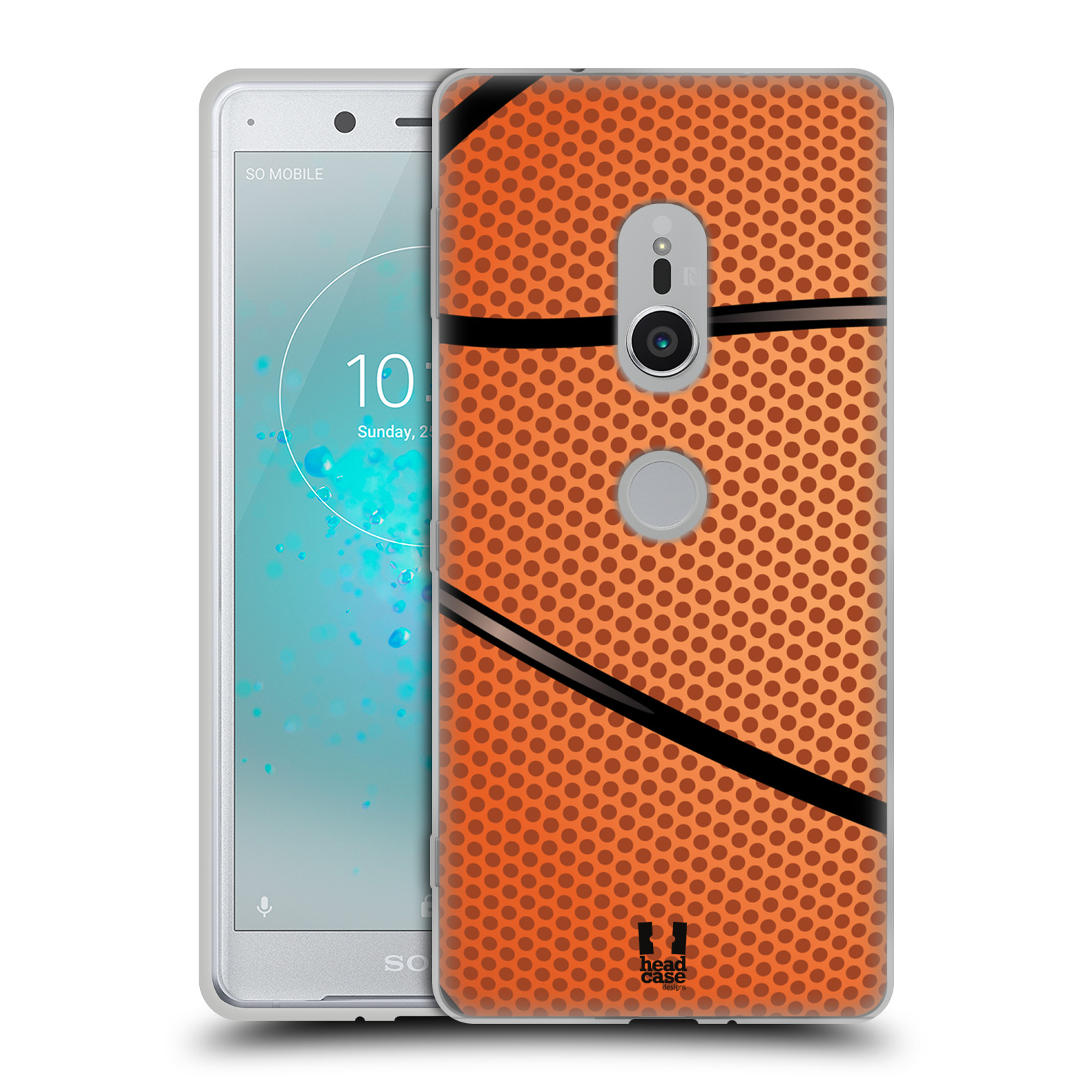 Silikonové pouzdro na mobil Sony Xperia XZ2 - Head Case - BASKEŤÁK