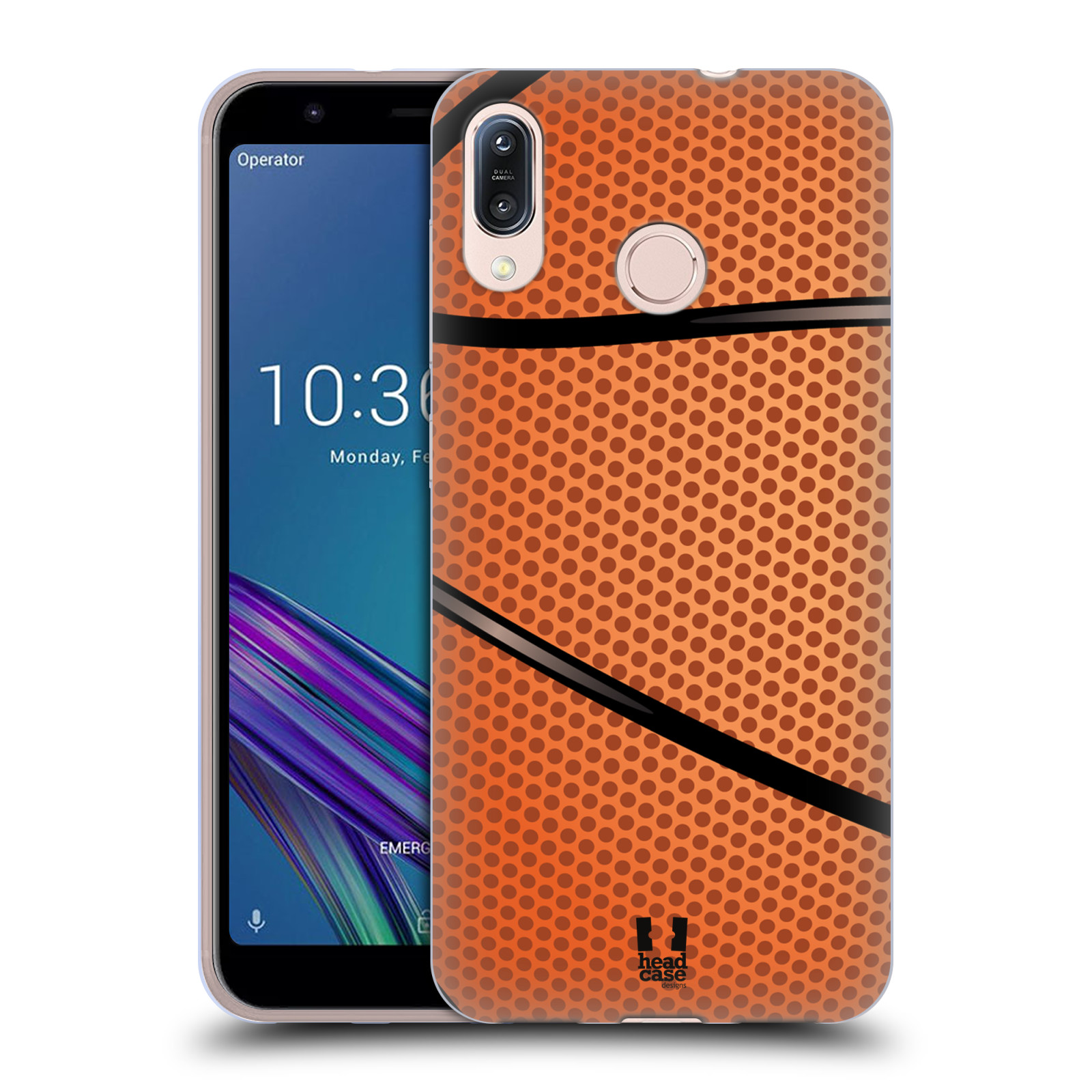 Silikonové pouzdro na mobil Asus Zenfone Max M1 ZB555KL - Head Case - BASKEŤÁK