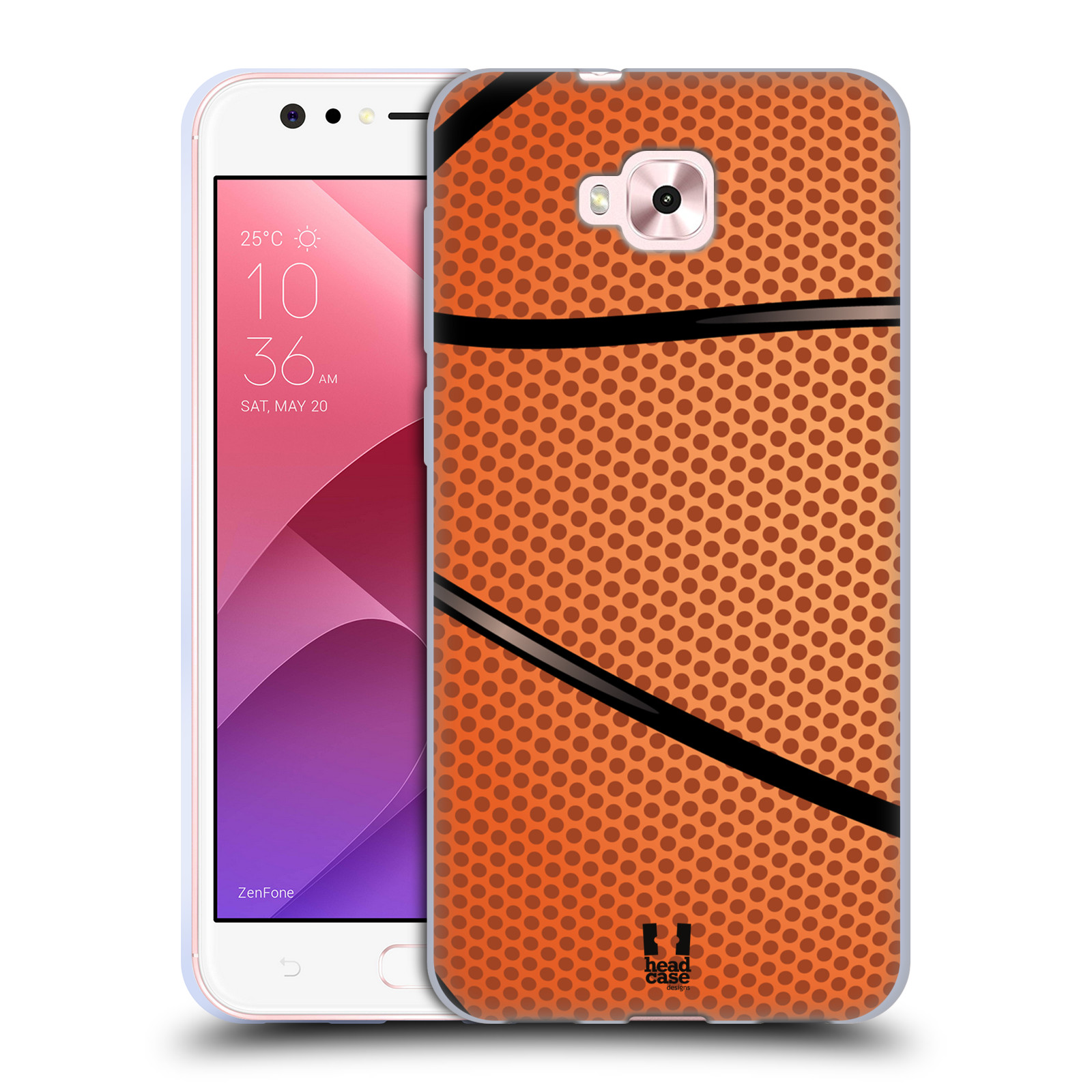 Silikonové pouzdro na mobil Asus Zenfone 4 Selfie ZD553KL - Head Case - BASKEŤÁK