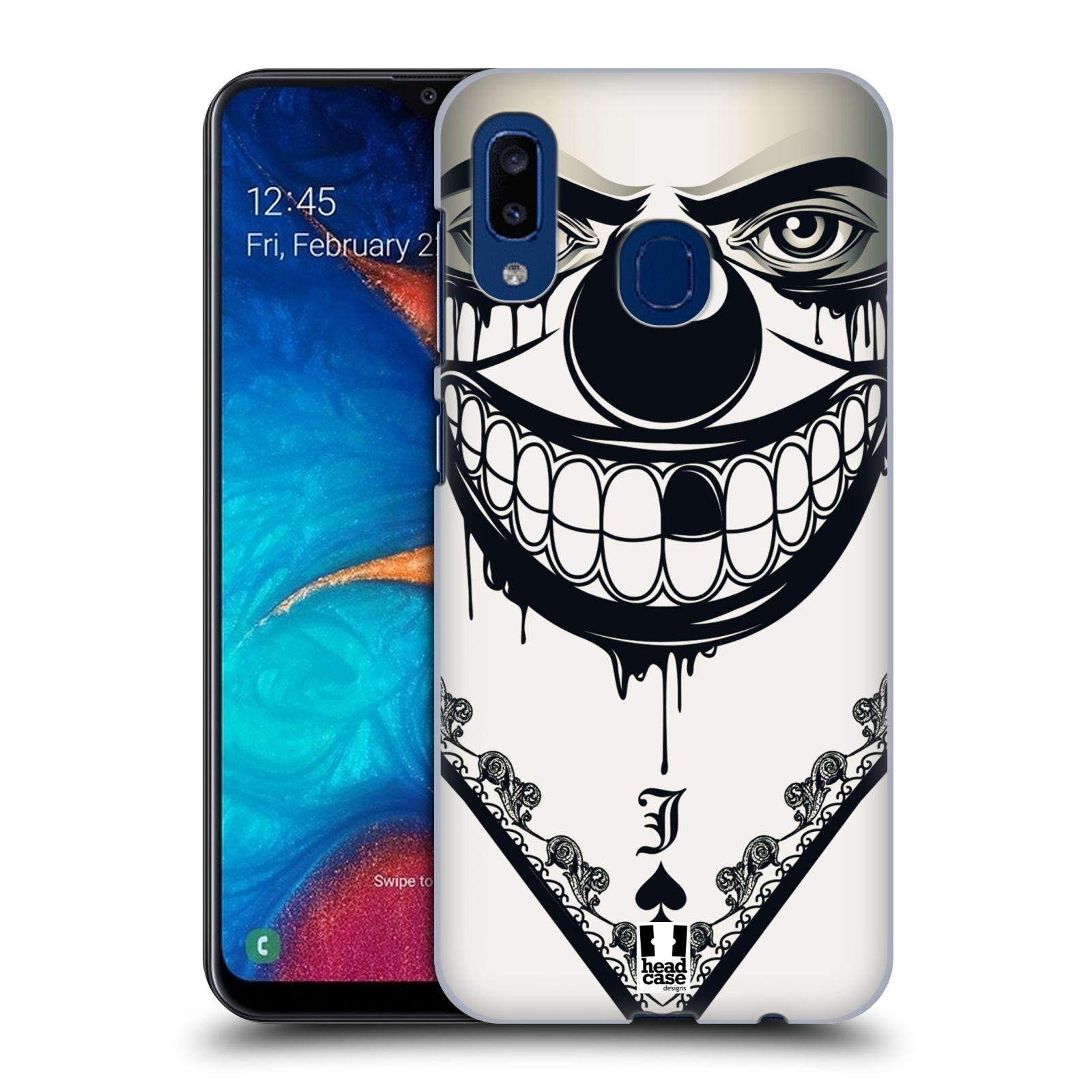 Plastové pouzdro na mobil Samsung Galaxy A20 - Head Case - ZLEJ KLAUN