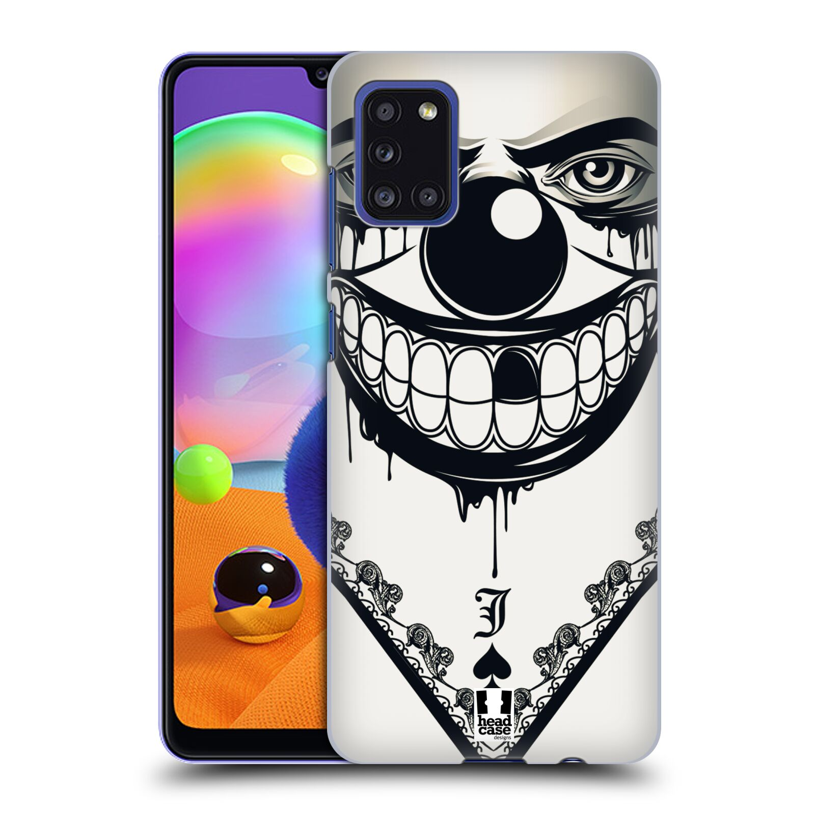 Plastové pouzdro na mobil Samsung Galaxy A31 - Head Case - ZLEJ KLAUN