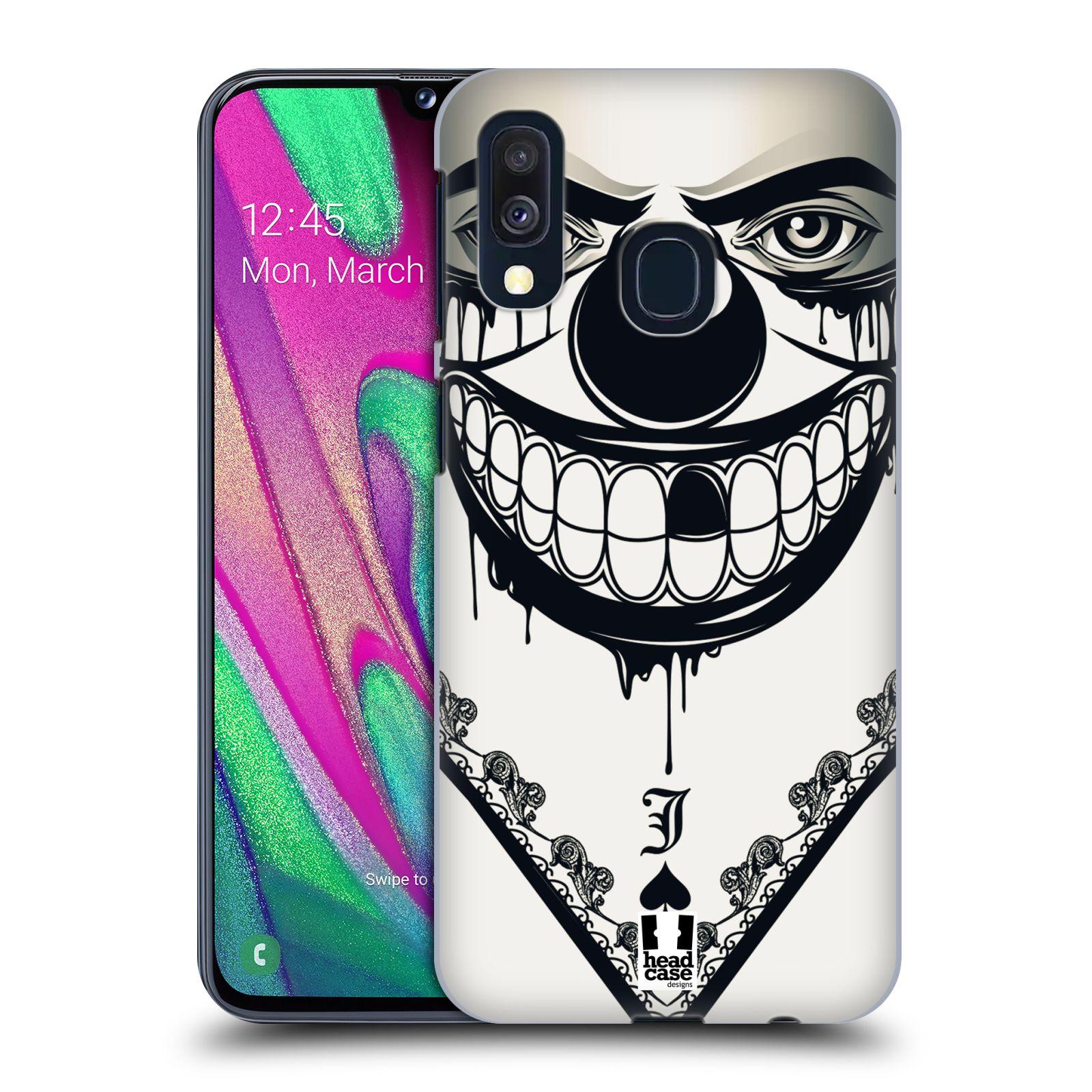 Plastové pouzdro na mobil Samsung Galaxy A40 - Head Case - ZLEJ KLAUN