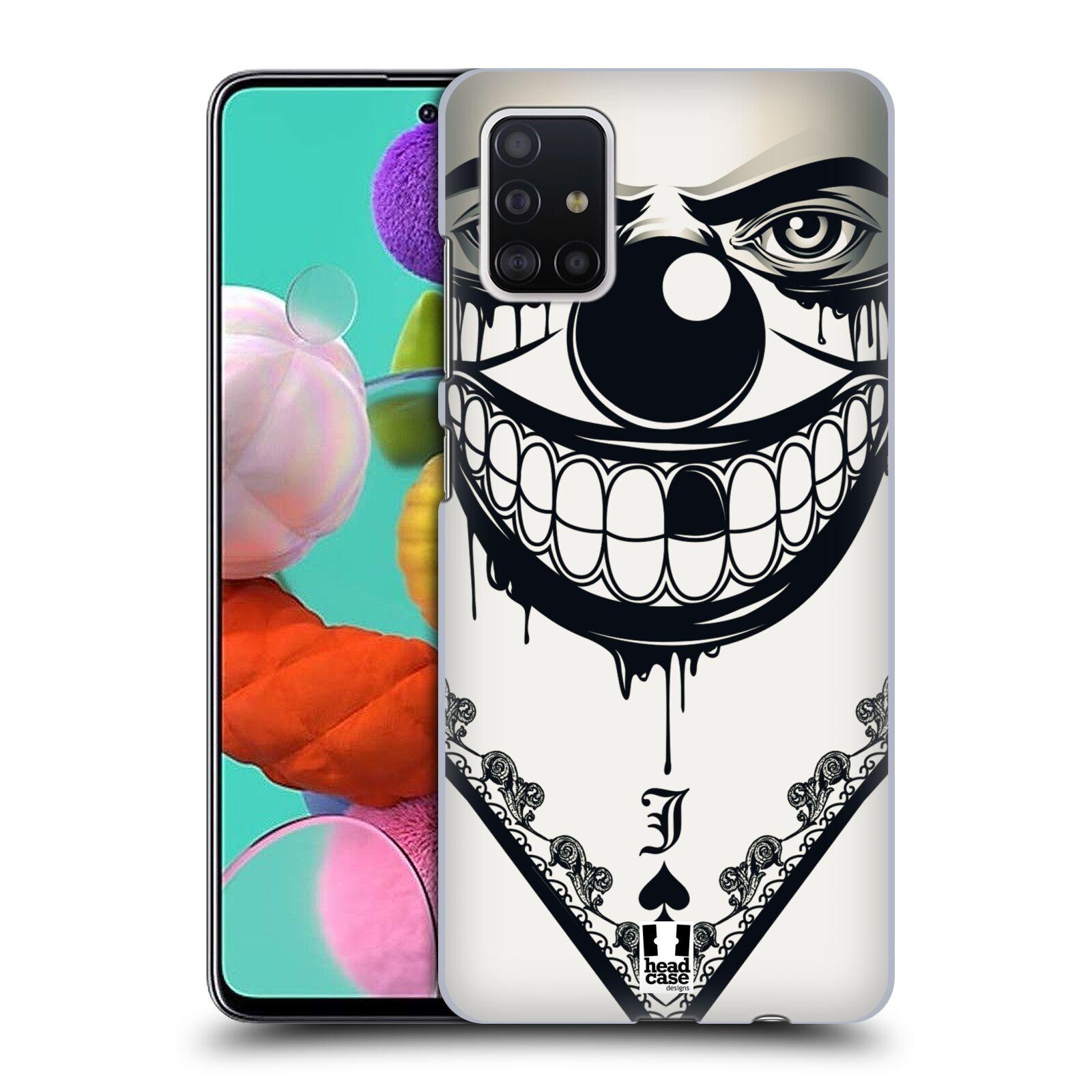 Plastové pouzdro na mobil Samsung Galaxy A51 - Head Case - ZLEJ KLAUN