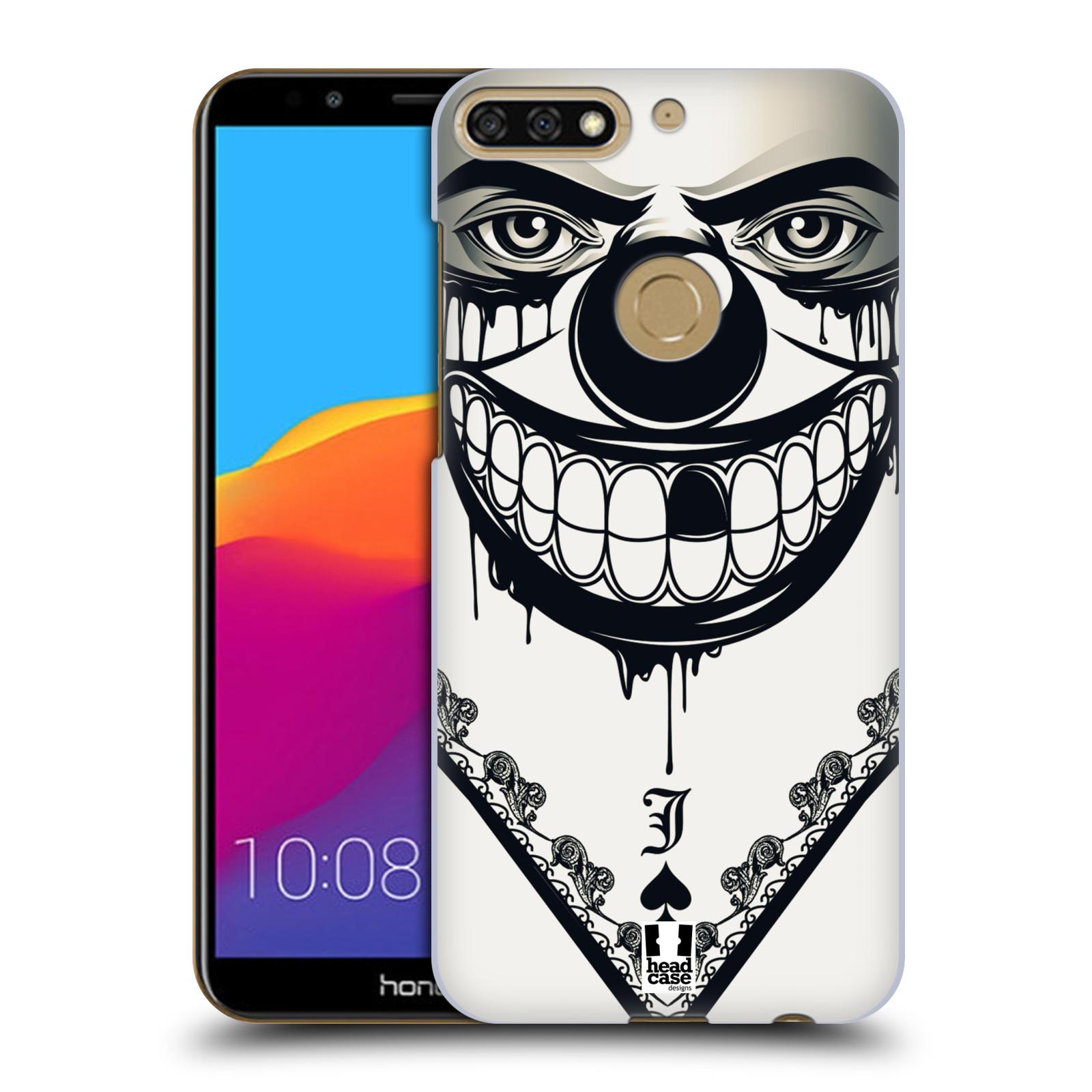 Plastové pouzdro na mobil Huawei Y7 Prime 2018 - Head Case - ZLEJ KLAUN