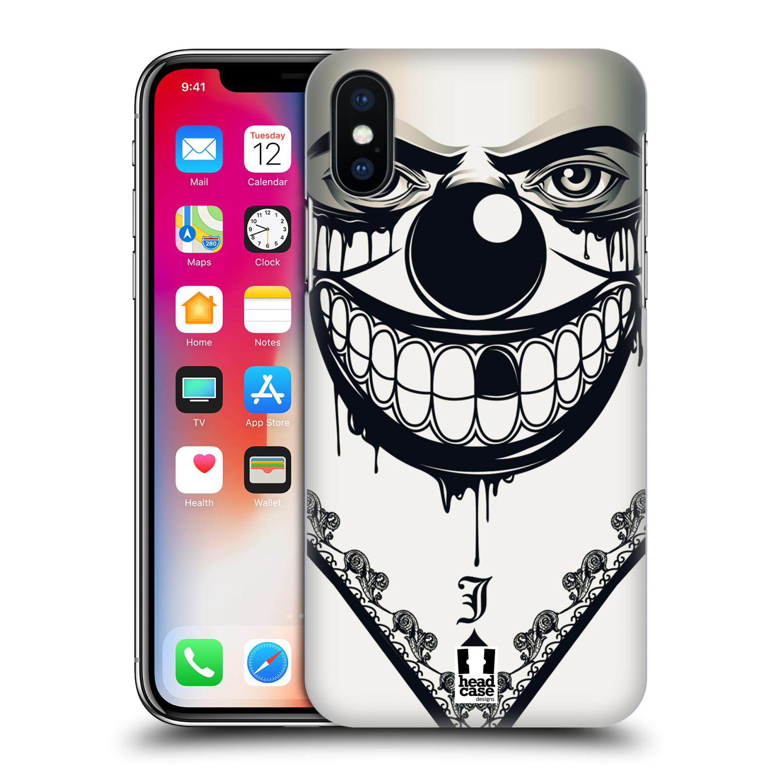 Plastové pouzdro na mobil Apple iPhone X - Head Case - ZLEJ KLAUN