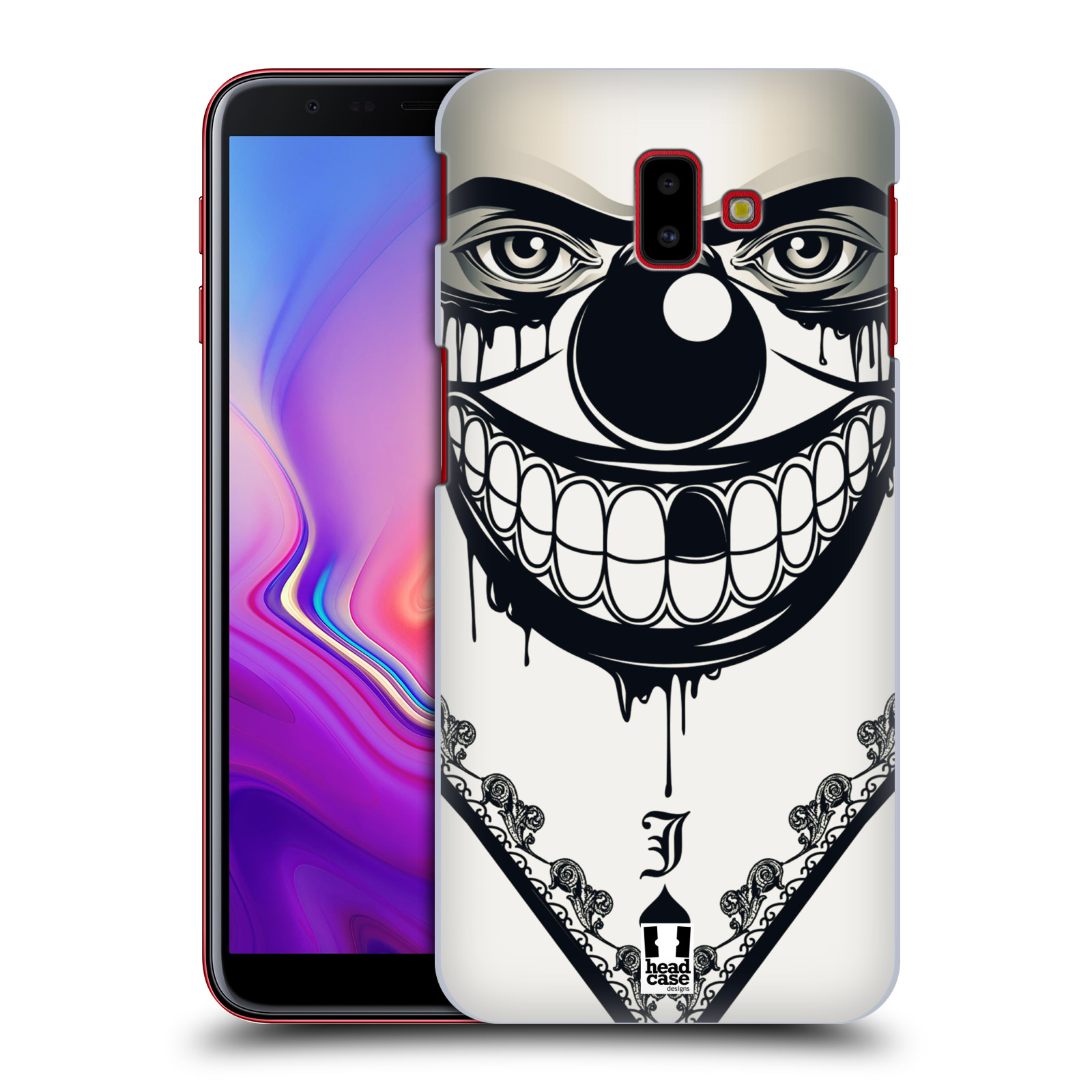 Plastové pouzdro na mobil Samsung Galaxy J6 Plus - Head Case - ZLEJ KLAUN