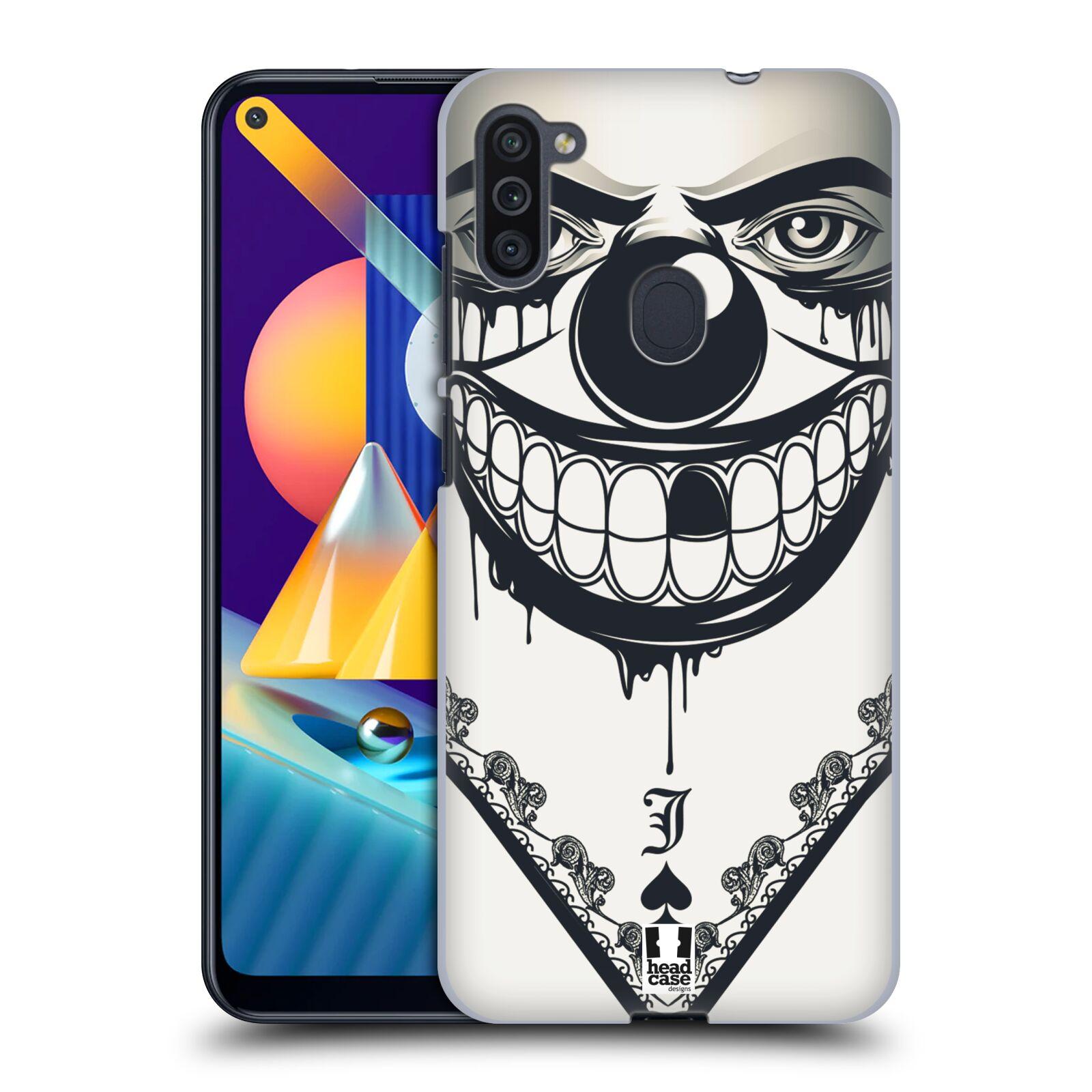 Plastové pouzdro na mobil Samsung Galaxy M11 - Head Case - ZLEJ KLAUN