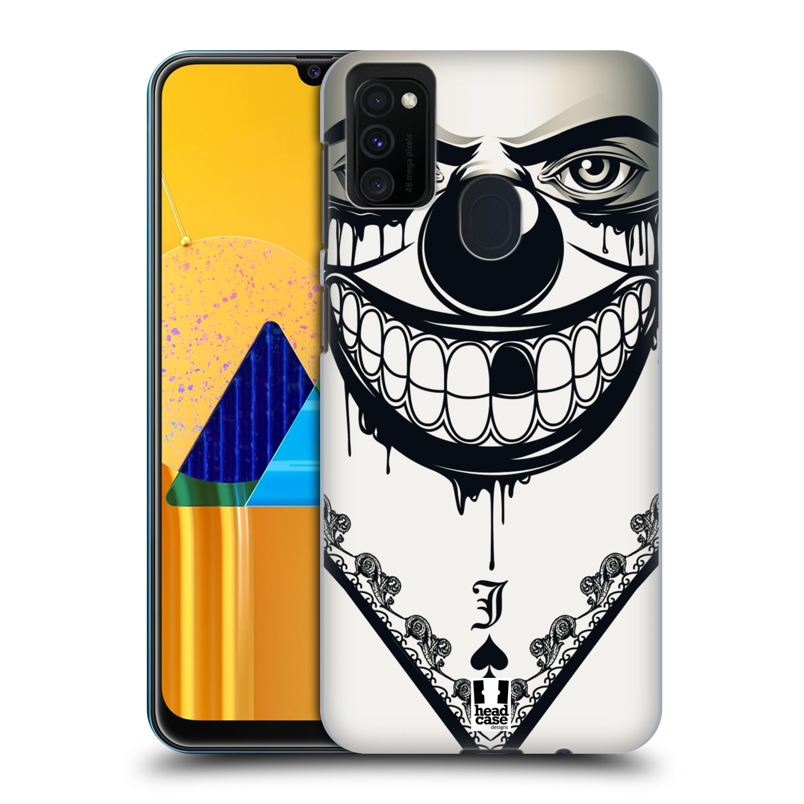 Plastové pouzdro na mobil Samsung Galaxy M21 - Head Case - ZLEJ KLAUN