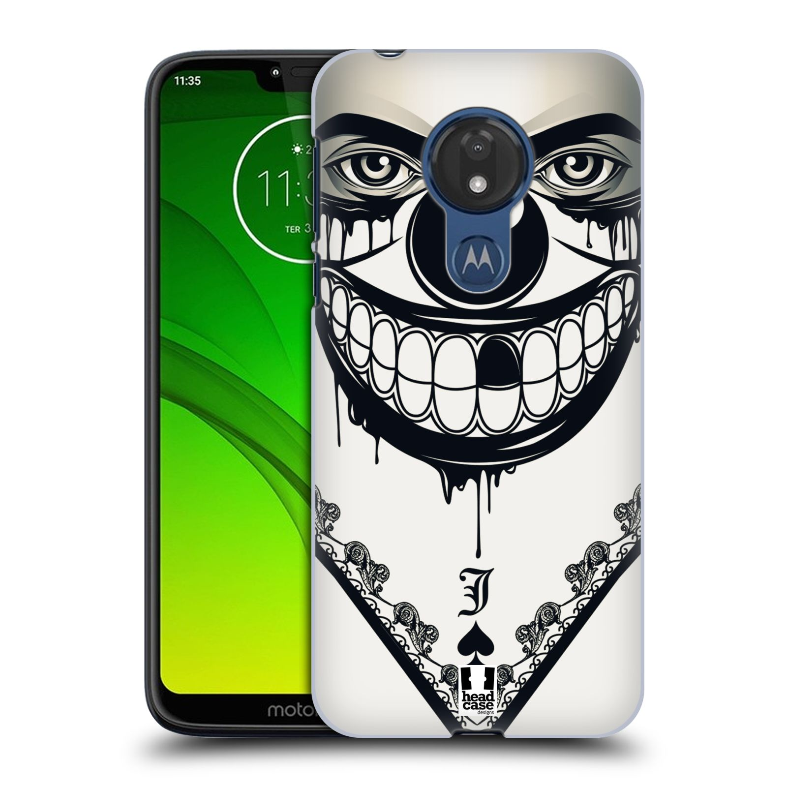 Plastové pouzdro na mobil Motorola Moto G7 Power - Head Case - ZLEJ KLAUN