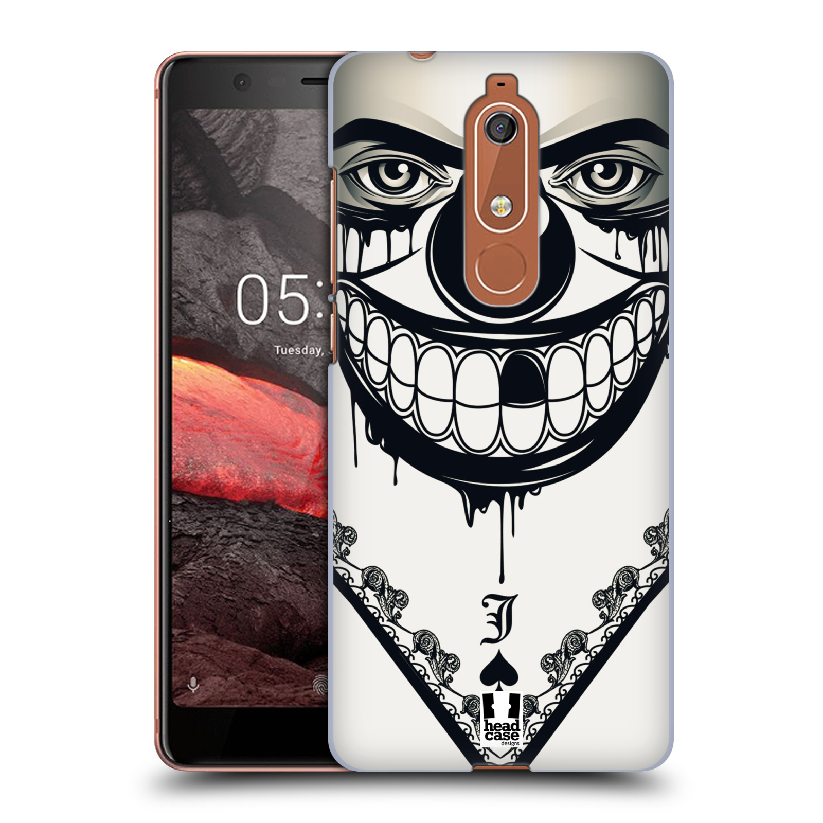 Plastové pouzdro na mobil Nokia 5.1 - Head Case - ZLEJ KLAUN