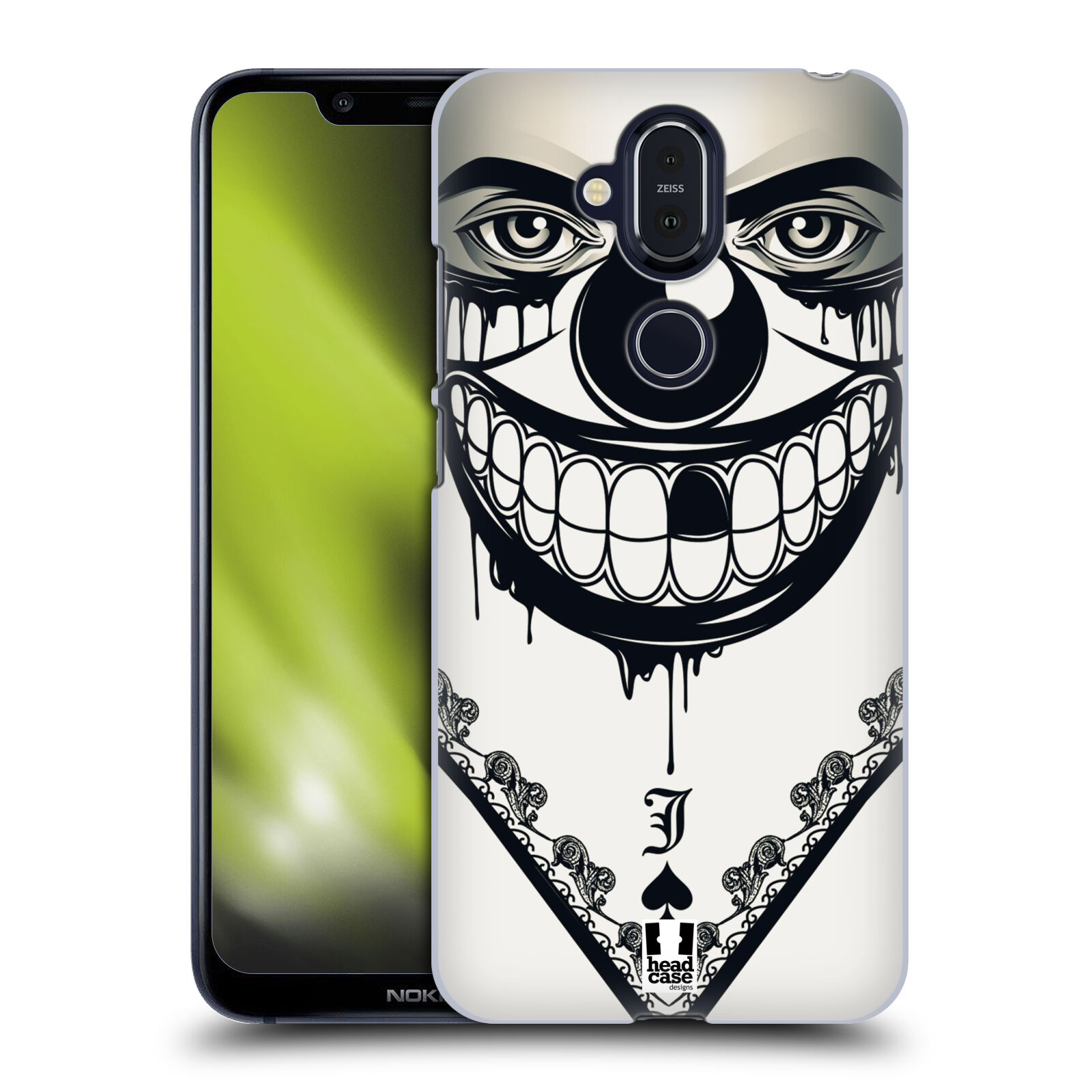 Plastové pouzdro na mobil Nokia 8.1 - Head Case - ZLEJ KLAUN