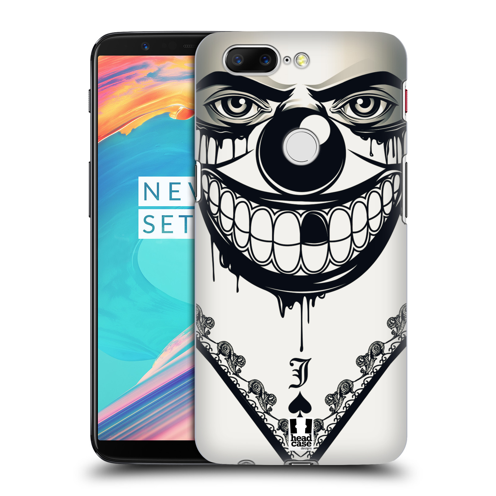 Plastové pouzdro na mobil OnePlus 5T - Head Case - ZLEJ KLAUN