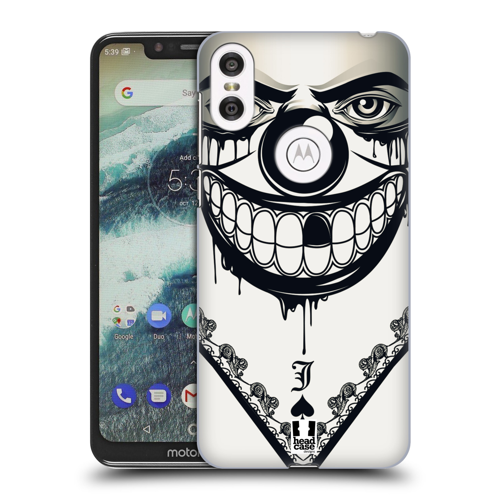 Plastové pouzdro na mobil Motorola One - Head Case - ZLEJ KLAUN