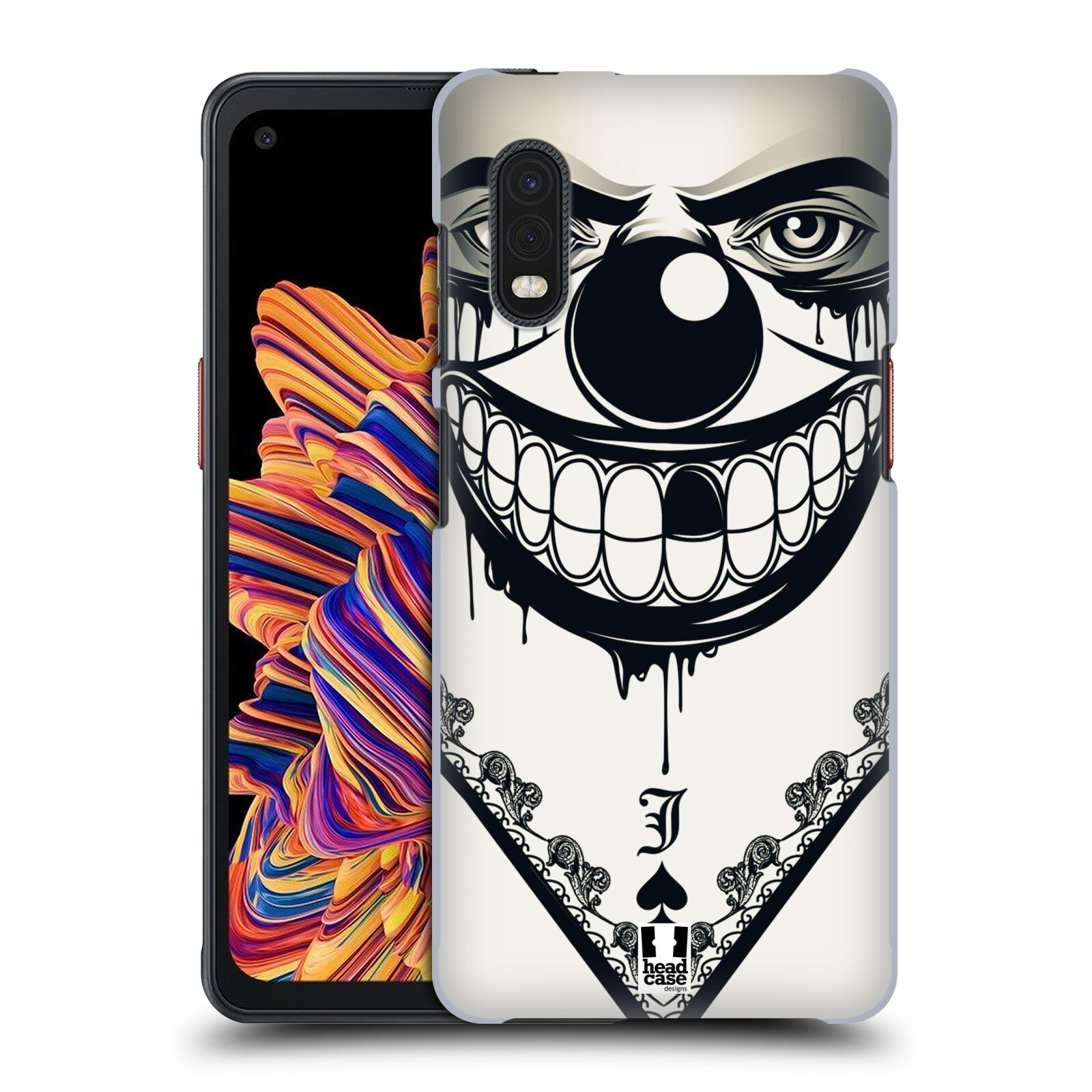 Plastové pouzdro na mobil Samsung Galaxy Xcover Pro - Head Case - ZLEJ KLAUN