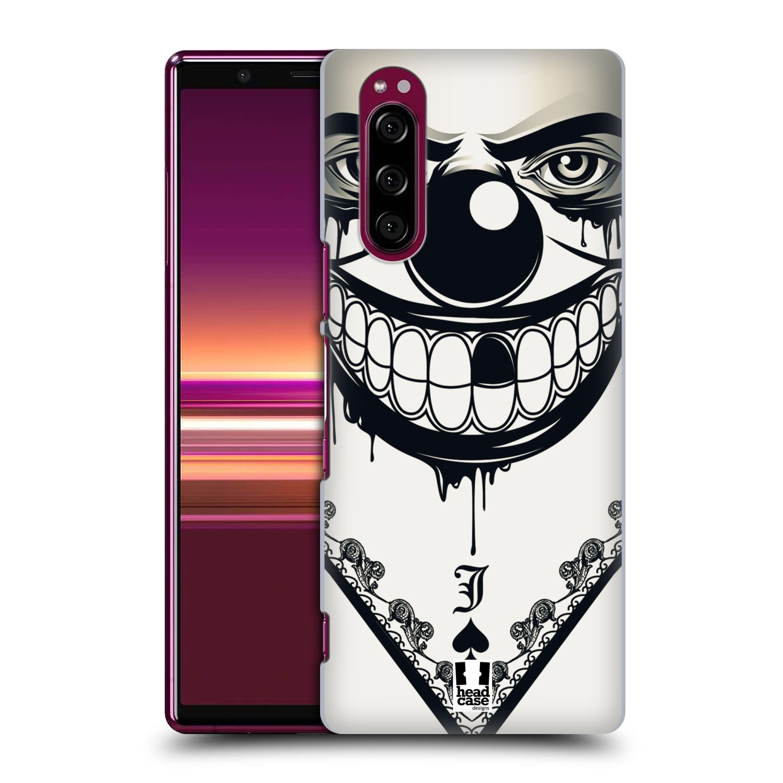 Plastové pouzdro na mobil Sony Xperia 5 - Head Case - ZLEJ KLAUN