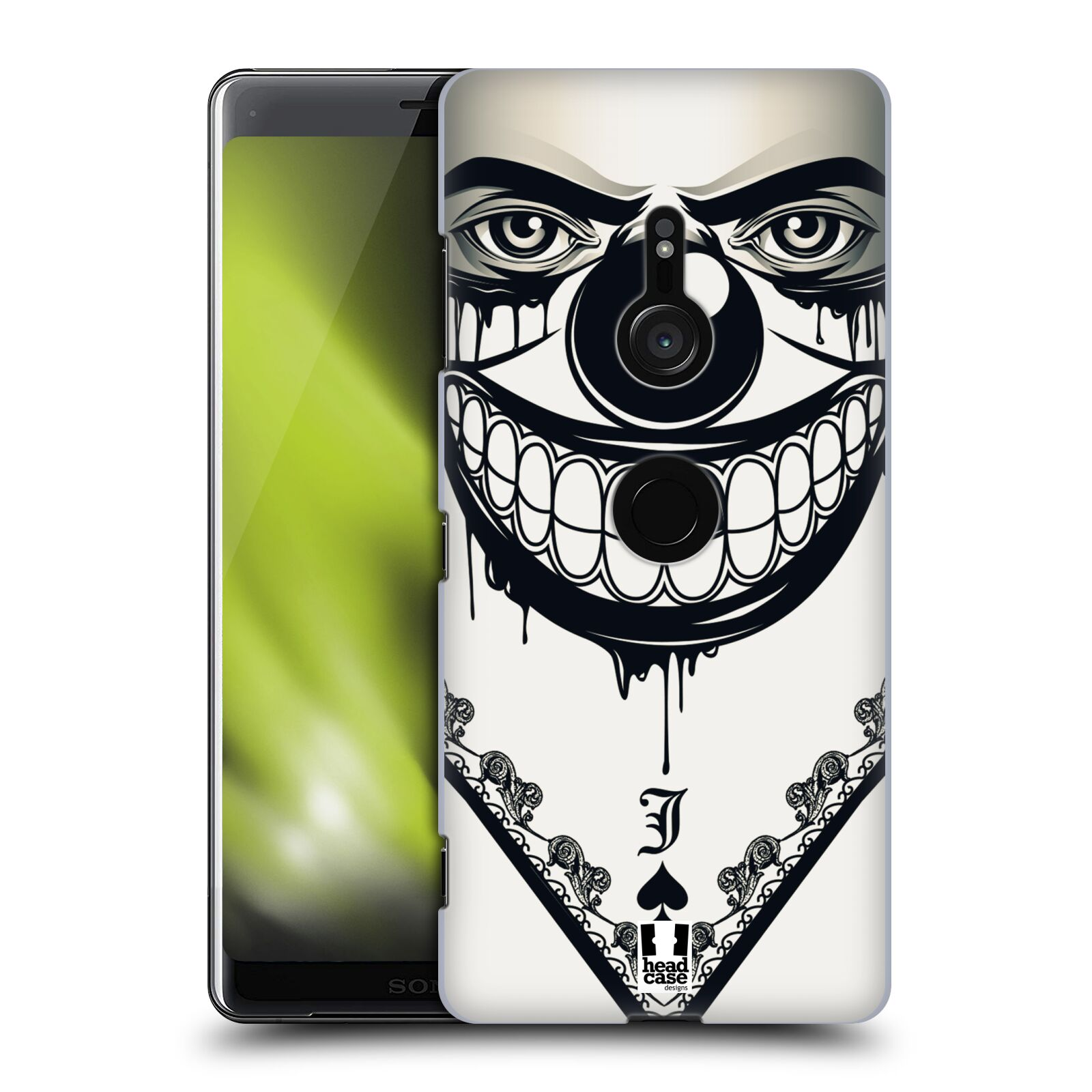 Plastové pouzdro na mobil Sony Xperia XZ3 - Head Case - ZLEJ KLAUN