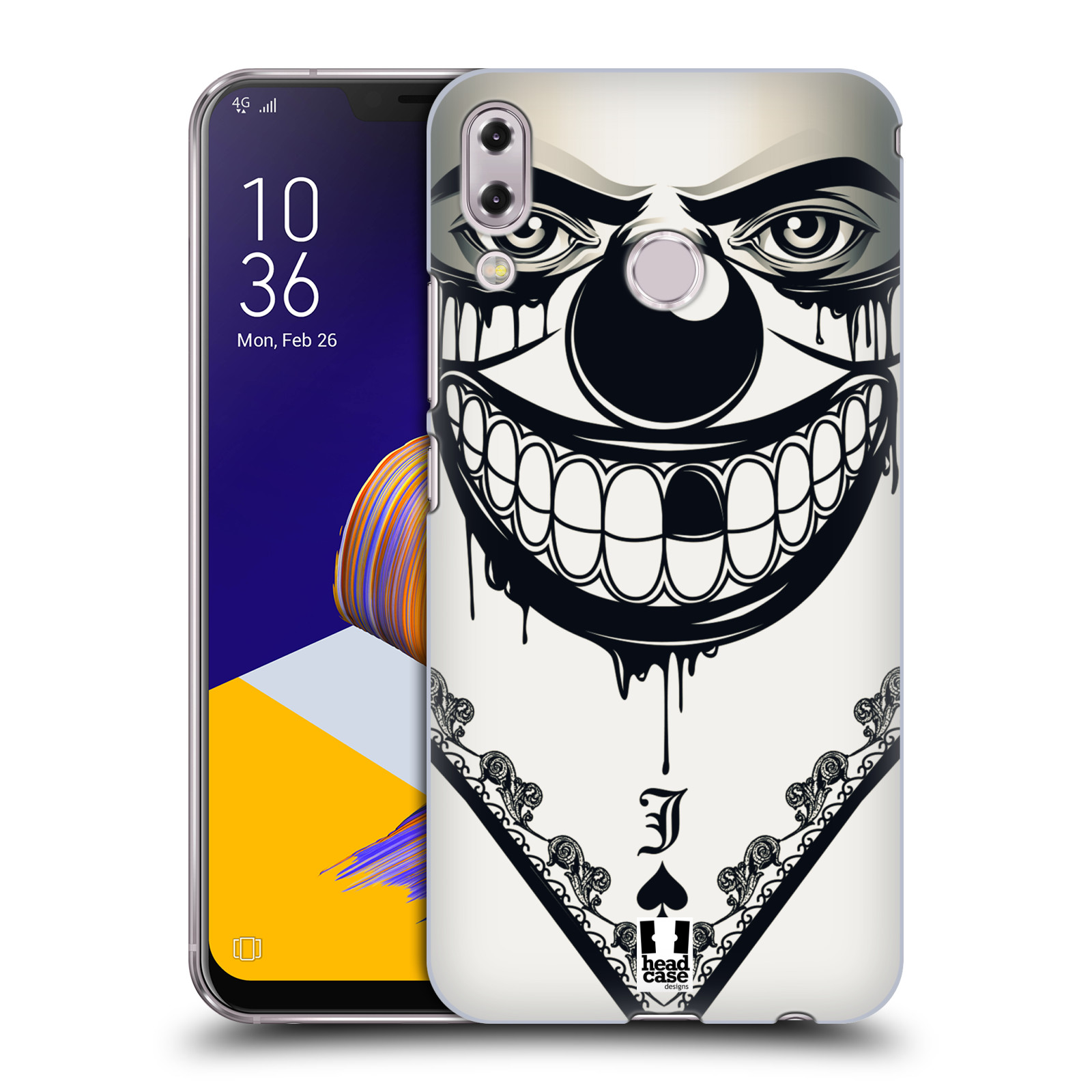 Plastové pouzdro na mobil Asus Zenfone 5z ZS620KL - Head Case - ZLEJ KLAUN