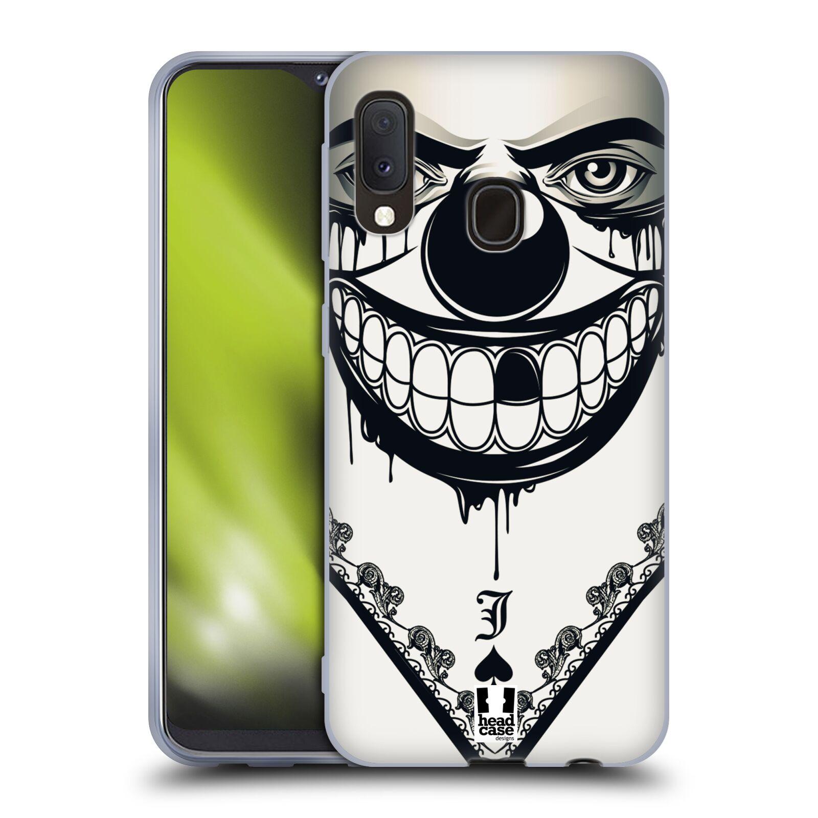 Silikonové pouzdro na mobil Samsung Galaxy A20e - Head Case - ZLEJ KLAUN