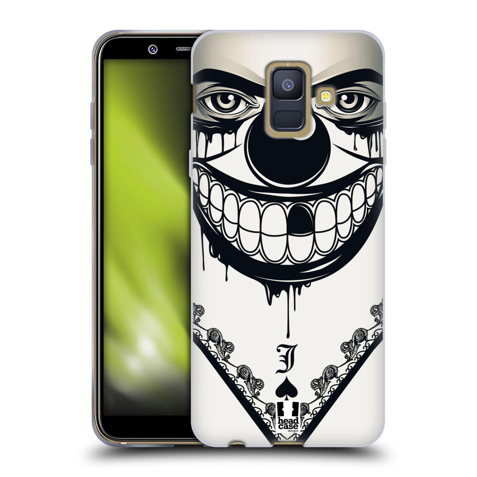 Silikonové pouzdro na mobil Samsung Galaxy A6 (2018) - Head Case - ZLEJ KLAUN
