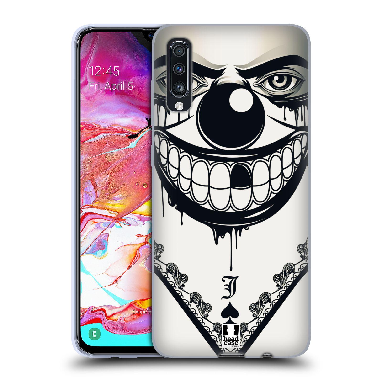 Silikonové pouzdro na mobil Samsung Galaxy A70 - Head Case - ZLEJ KLAUN