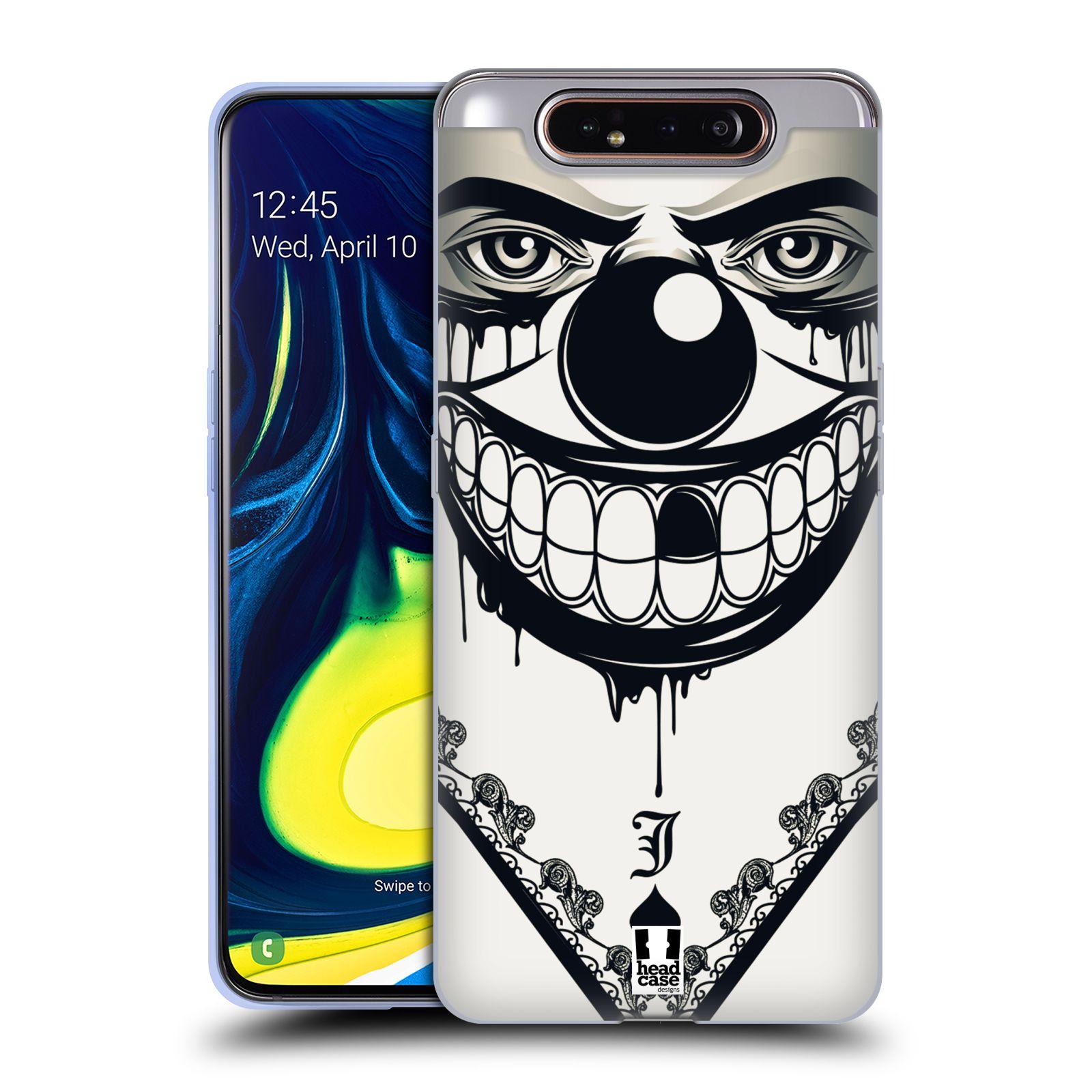 Silikonové pouzdro na mobil Samsung Galaxy A80 - Head Case - ZLEJ KLAUN