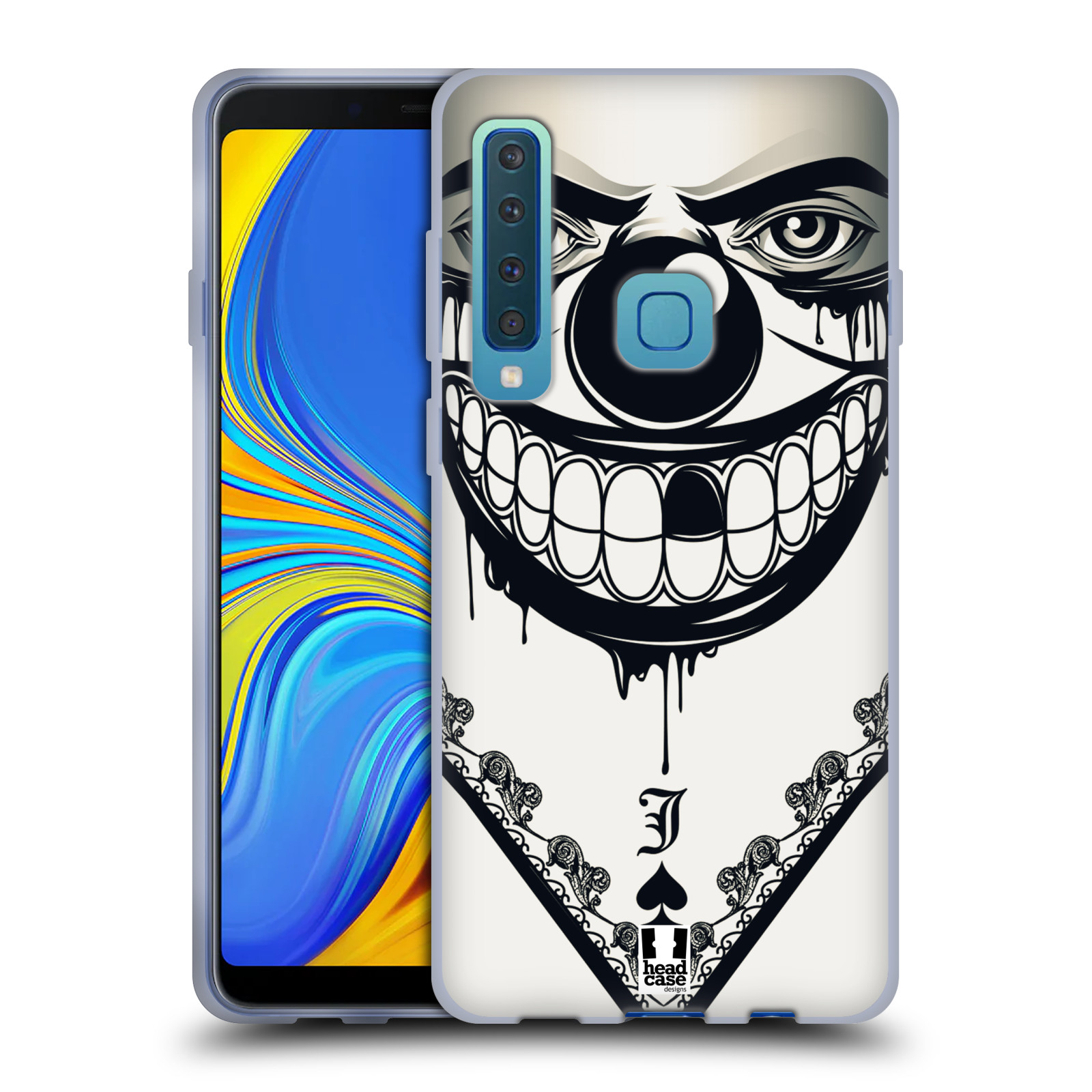 Silikonové pouzdro na mobil Samsung Galaxy A9 (2018) - Head Case - ZLEJ KLAUN