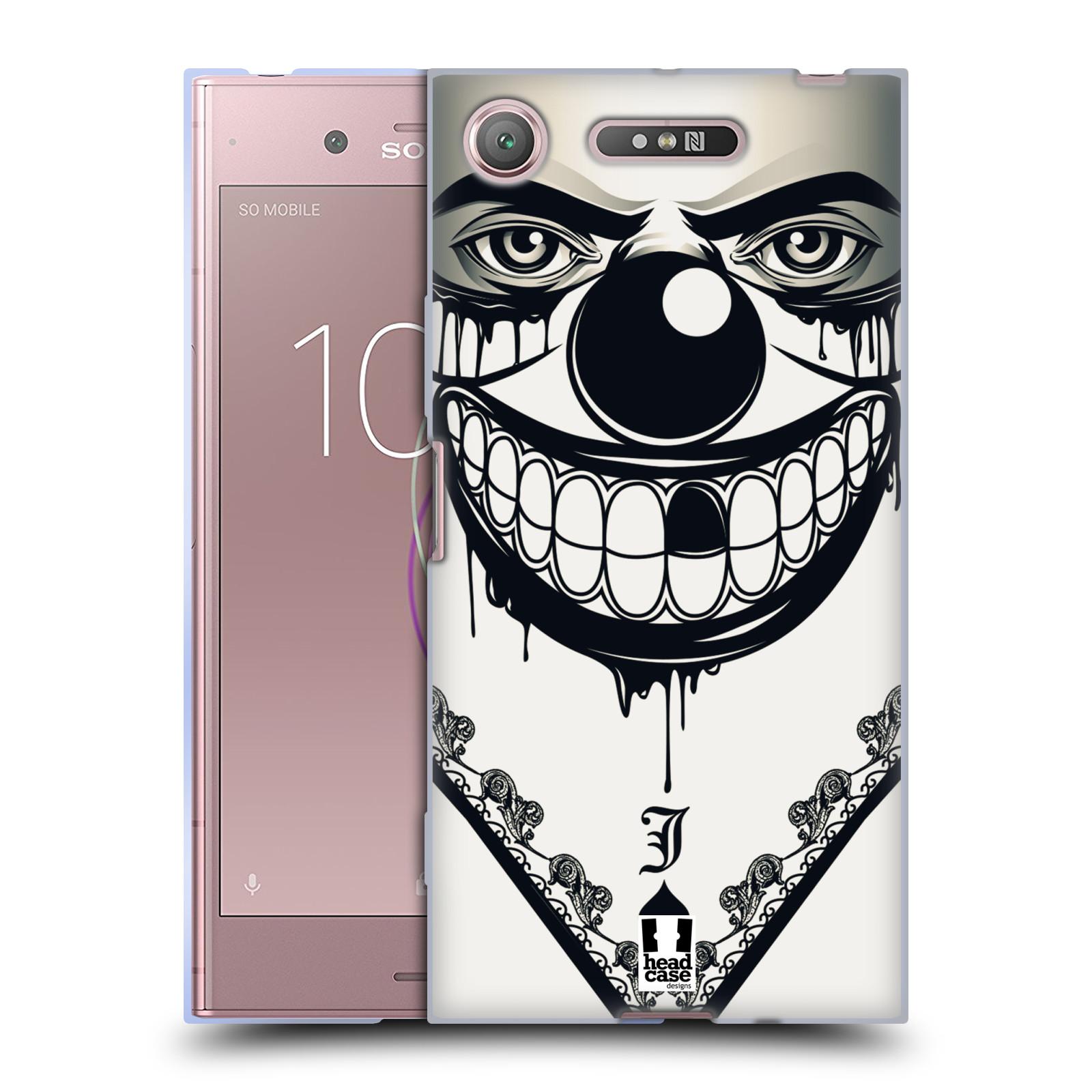Silikonové pouzdro na mobil Sony Xperia XZ1 - Head Case - ZLEJ KLAUN