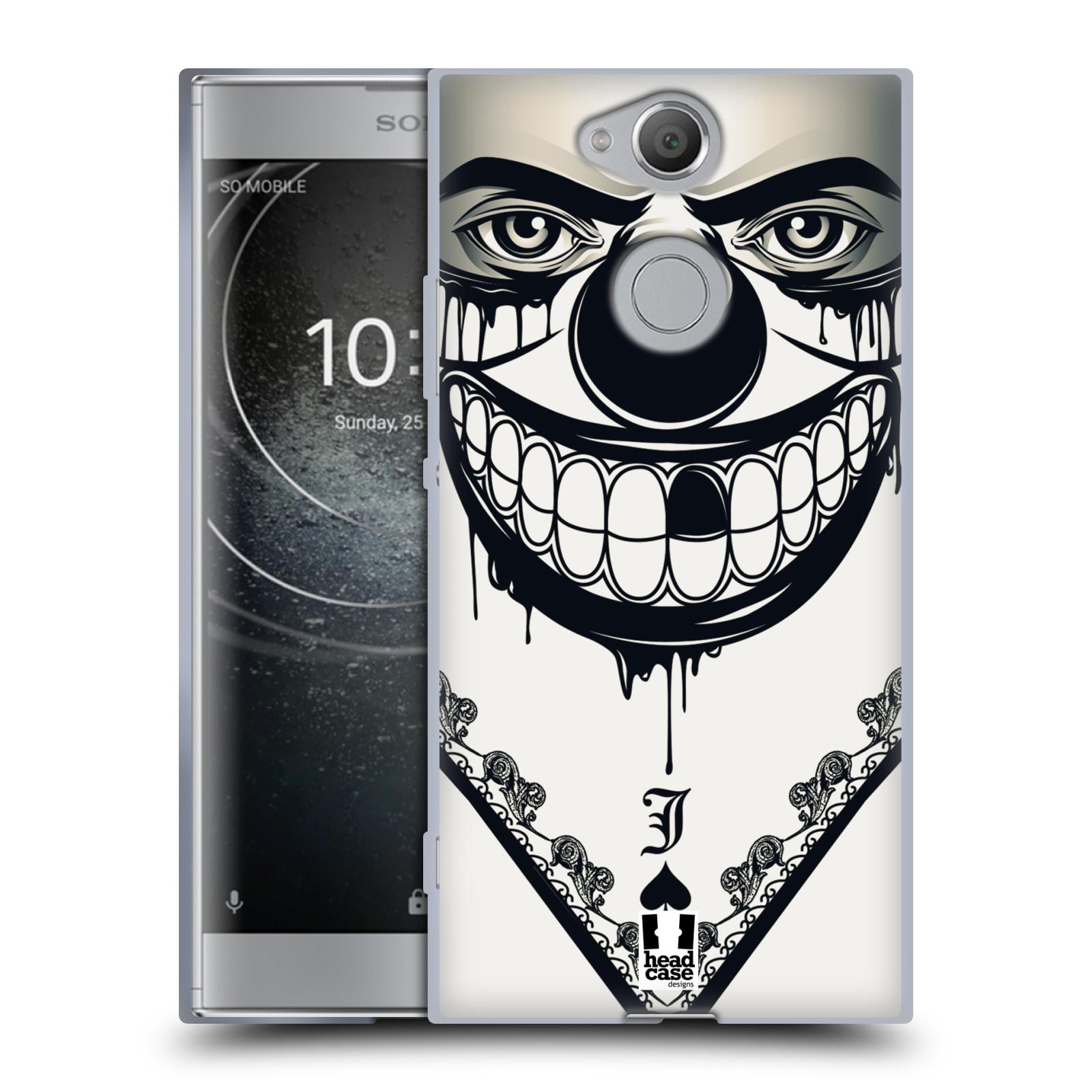 Silikonové pouzdro na mobil Sony Xperia XA2 - Head Case - ZLEJ KLAUN