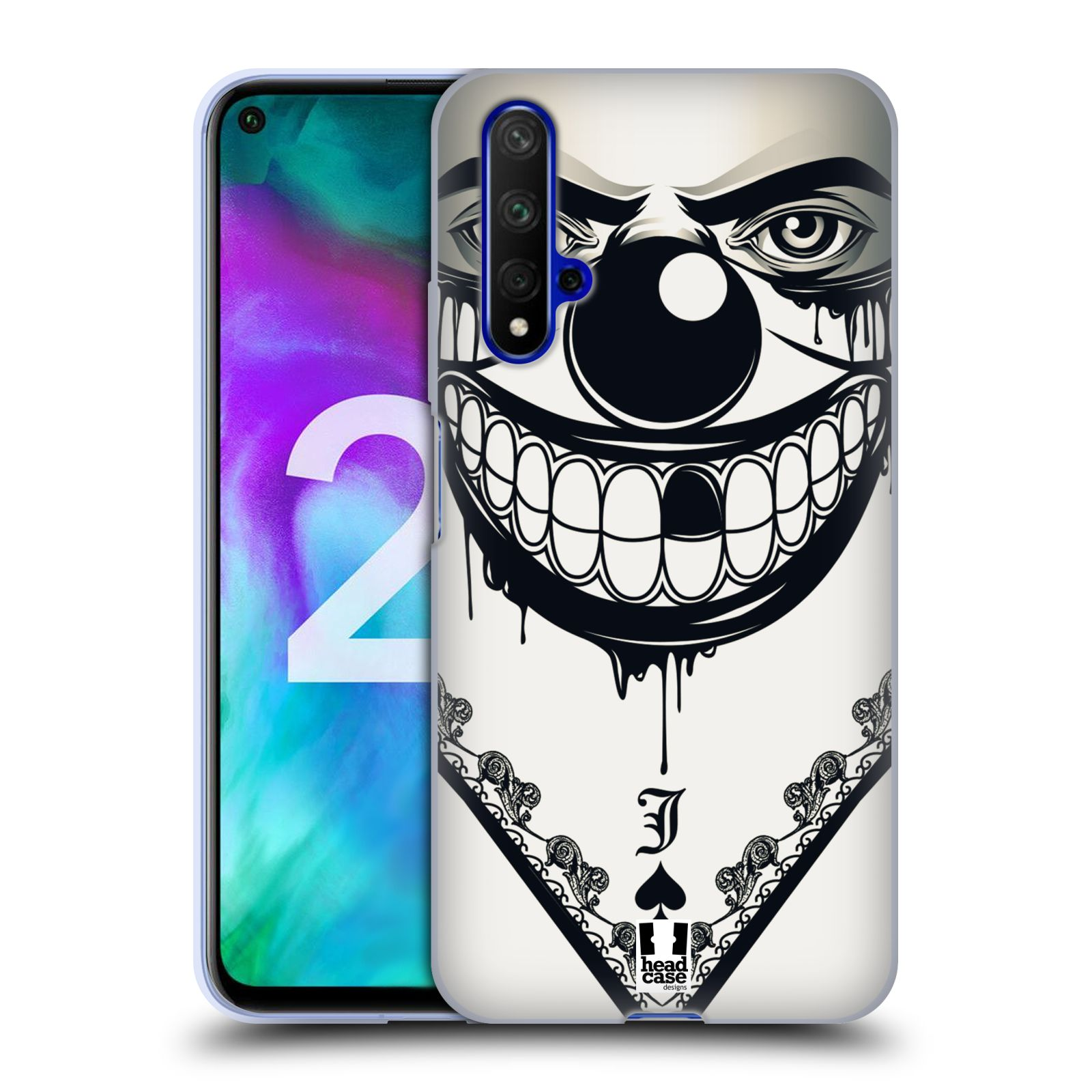 Silikonové pouzdro na mobil Honor 20 - Head Case - ZLEJ KLAUN