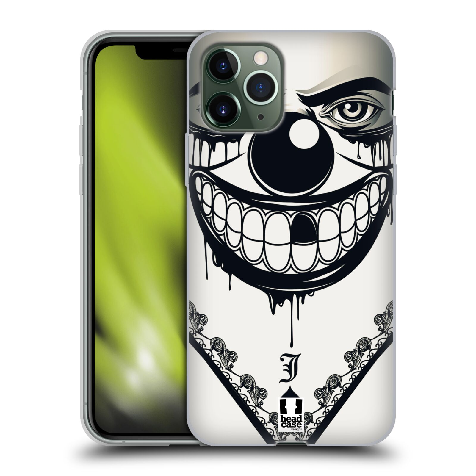 iphone 7 kryty apple , Silikonové pouzdro na mobil Apple iPhone 11 Pro - Head Case - ZLEJ KLAUN
