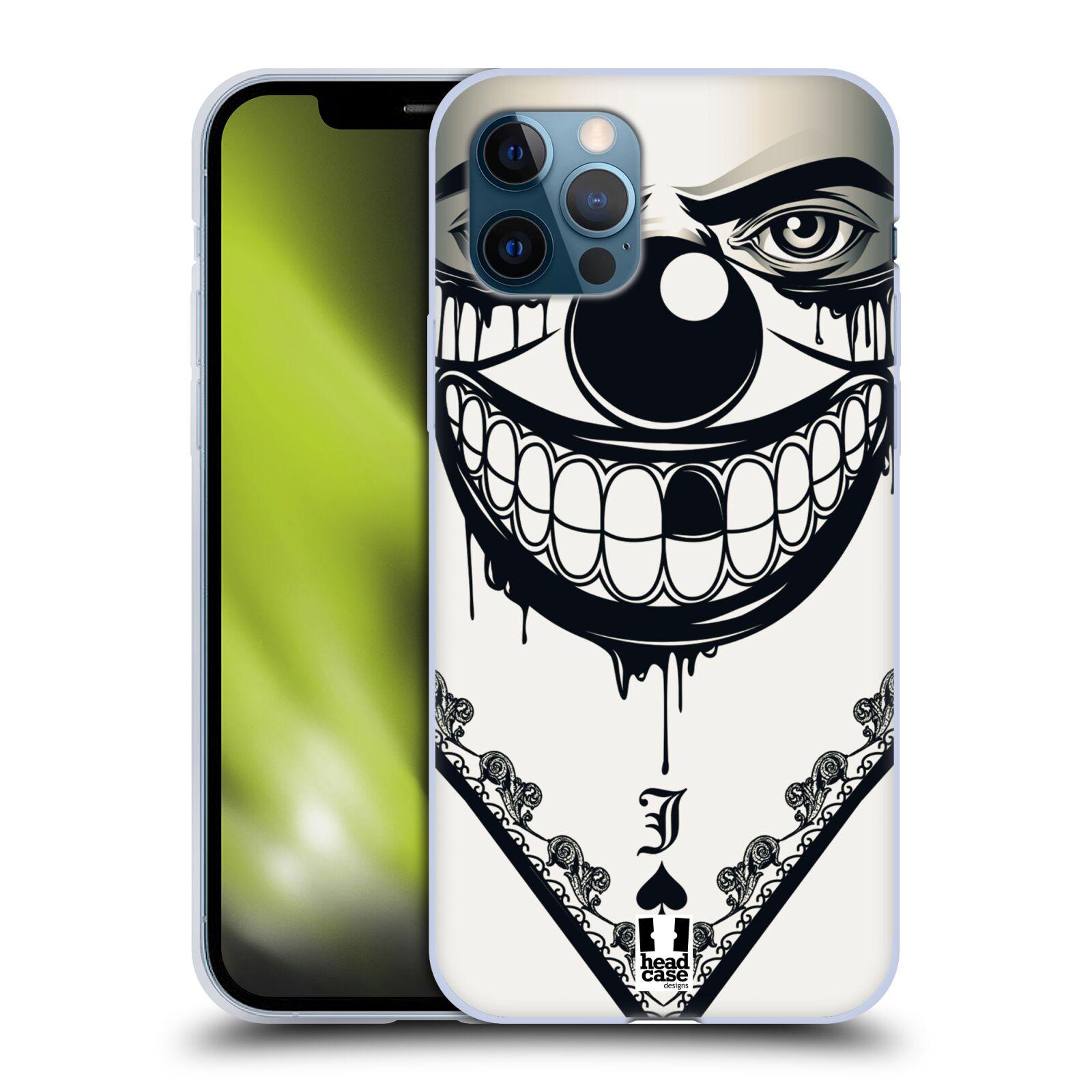Silikonové pouzdro na mobil Apple iPhone 12 / 12 Pro - Head Case - ZLEJ KLAUN
