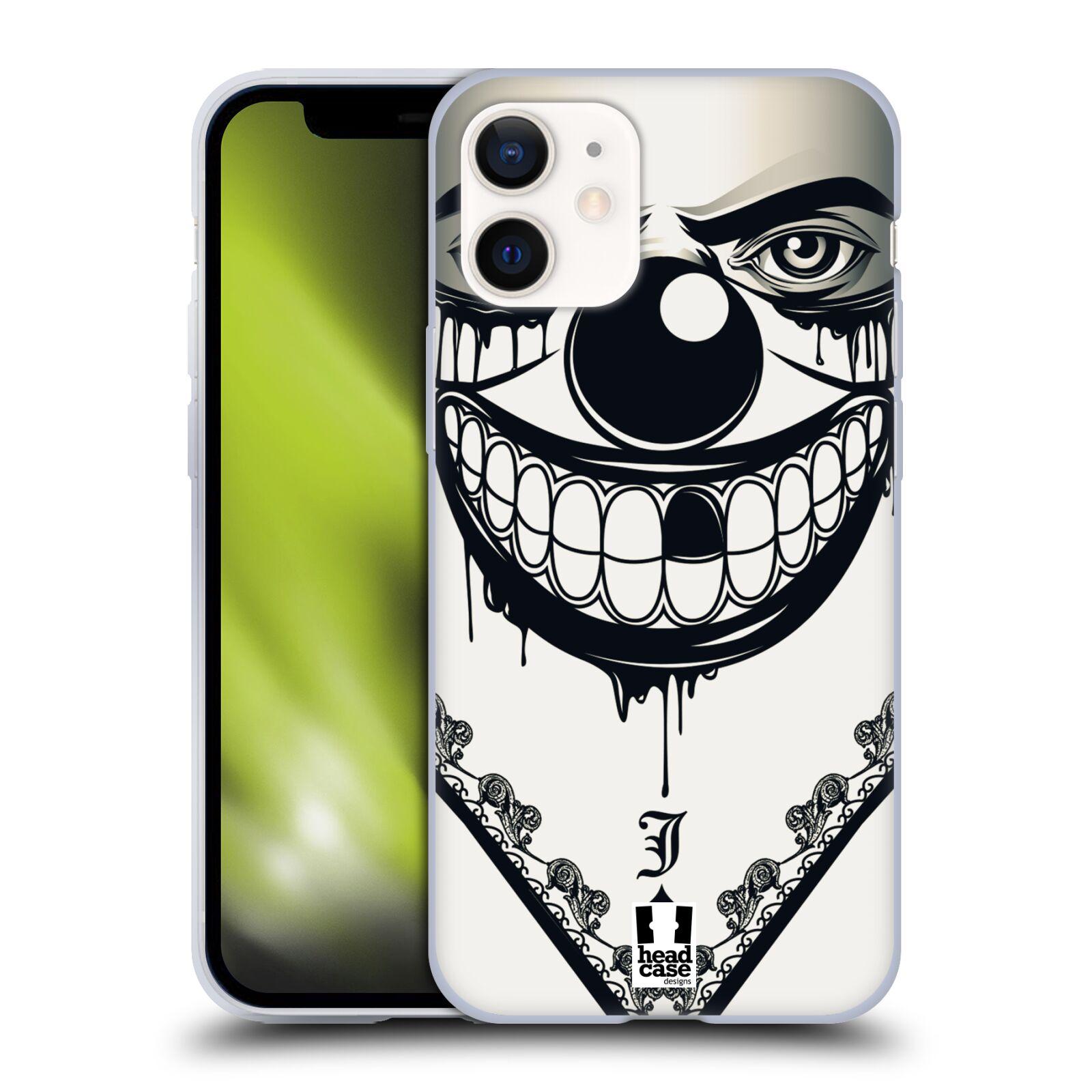 Silikonové pouzdro na mobil Apple iPhone 12 Mini - Head Case - ZLEJ KLAUN