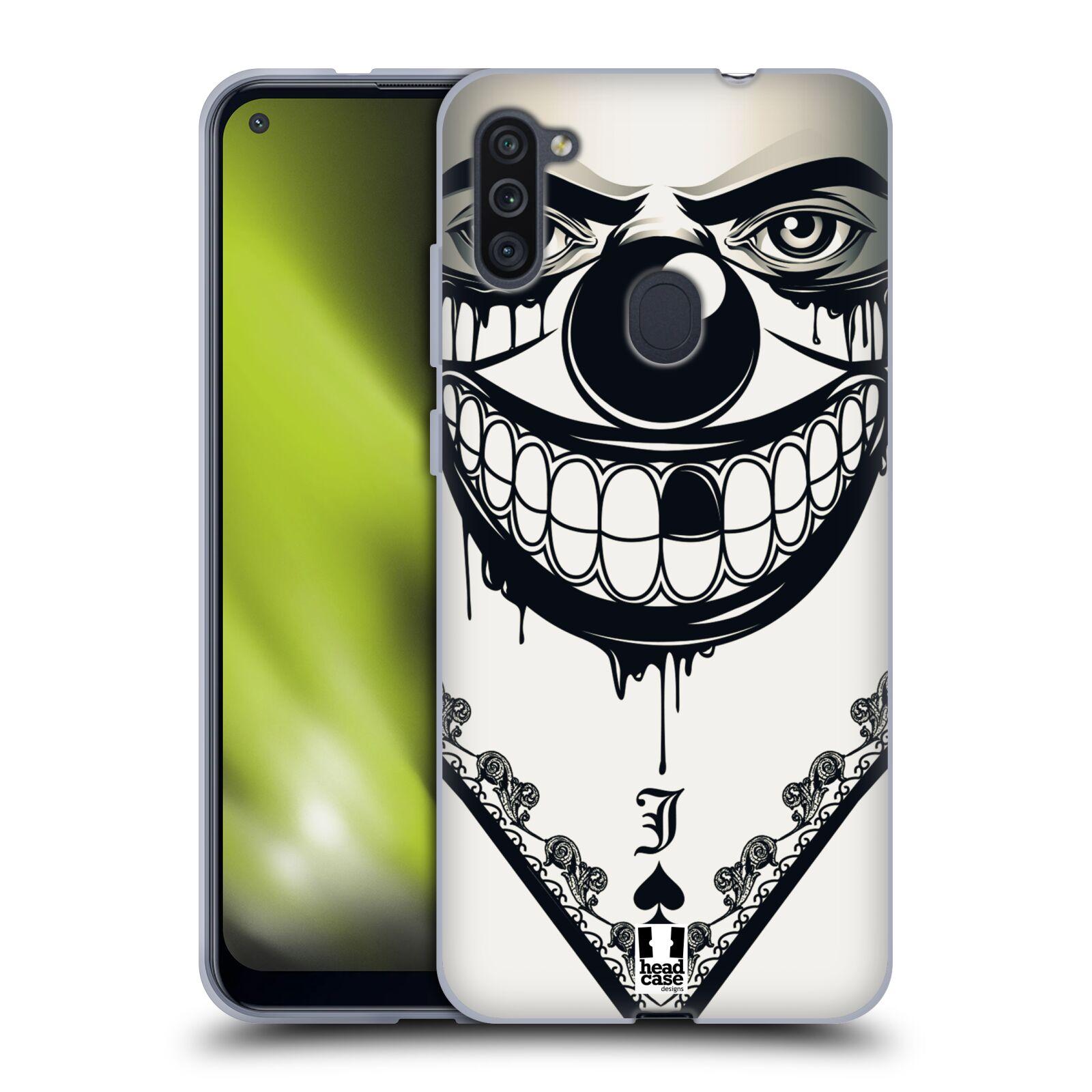 Silikonové pouzdro na mobil Samsung Galaxy M11 - Head Case - ZLEJ KLAUN