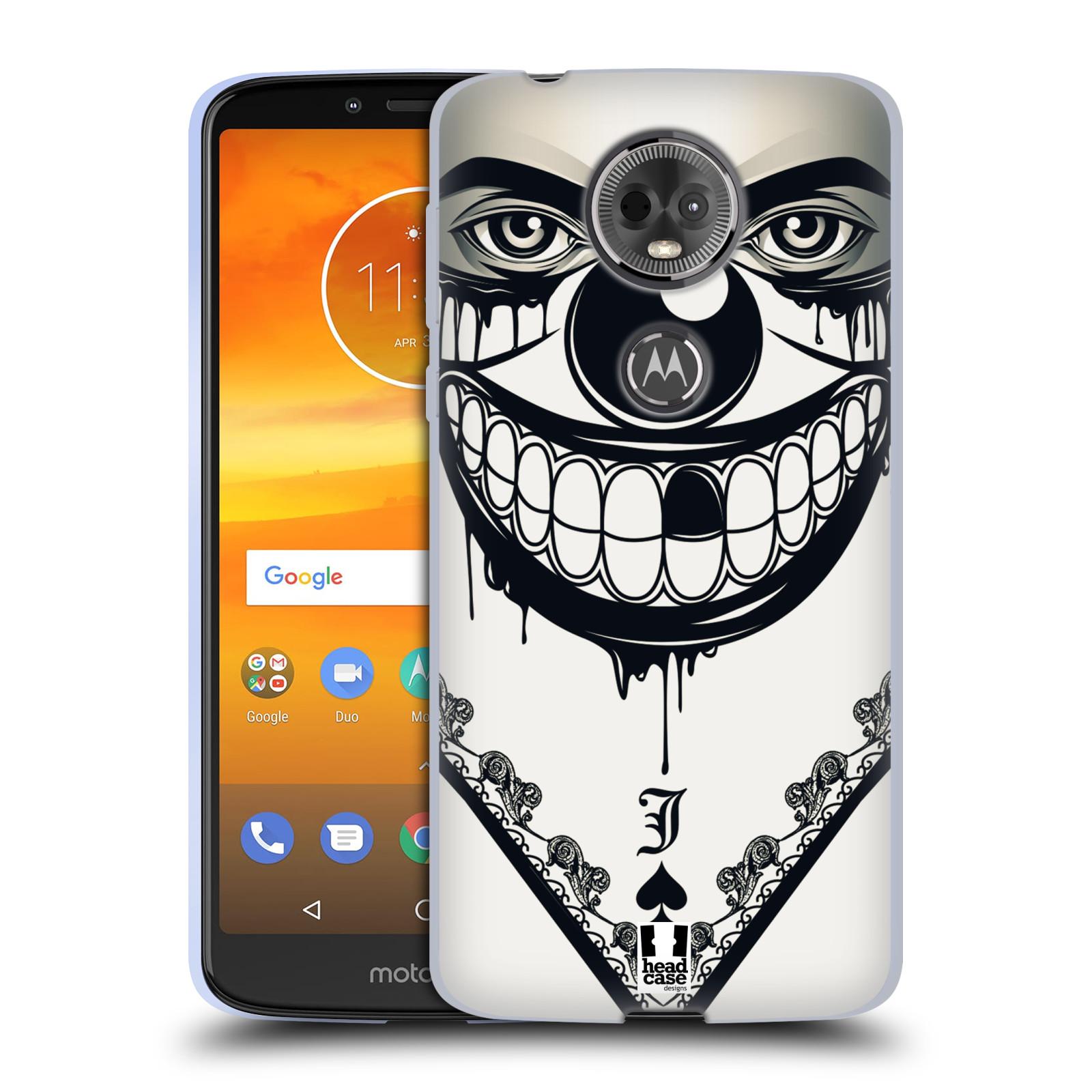 Silikonové pouzdro na mobil Motorola Moto E5 Plus - Head Case - ZLEJ KLAUN