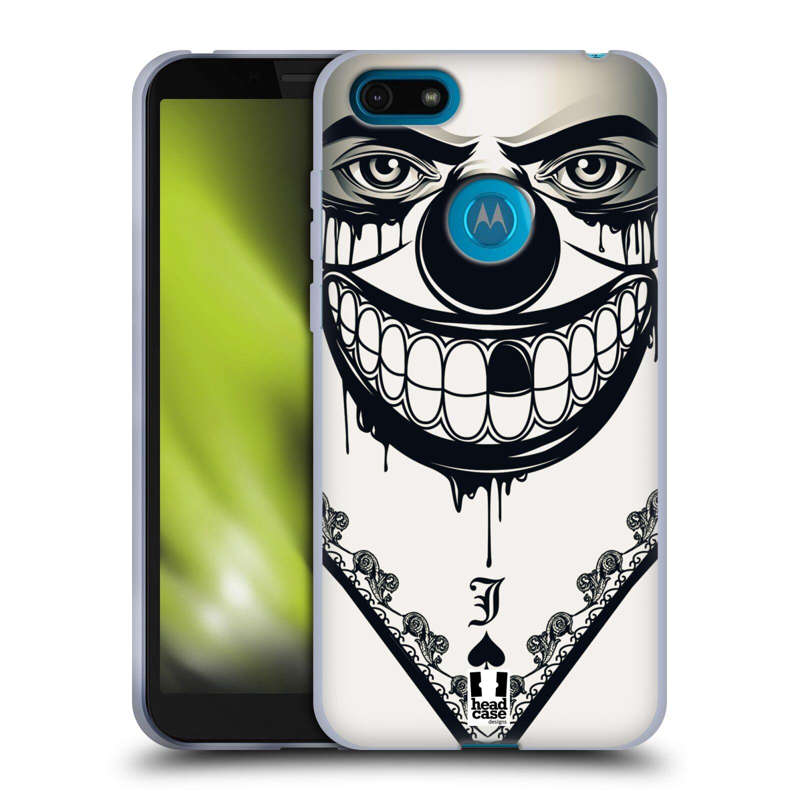 Silikonové pouzdro na mobil Motorola Moto E6 Play - Head Case - ZLEJ KLAUN