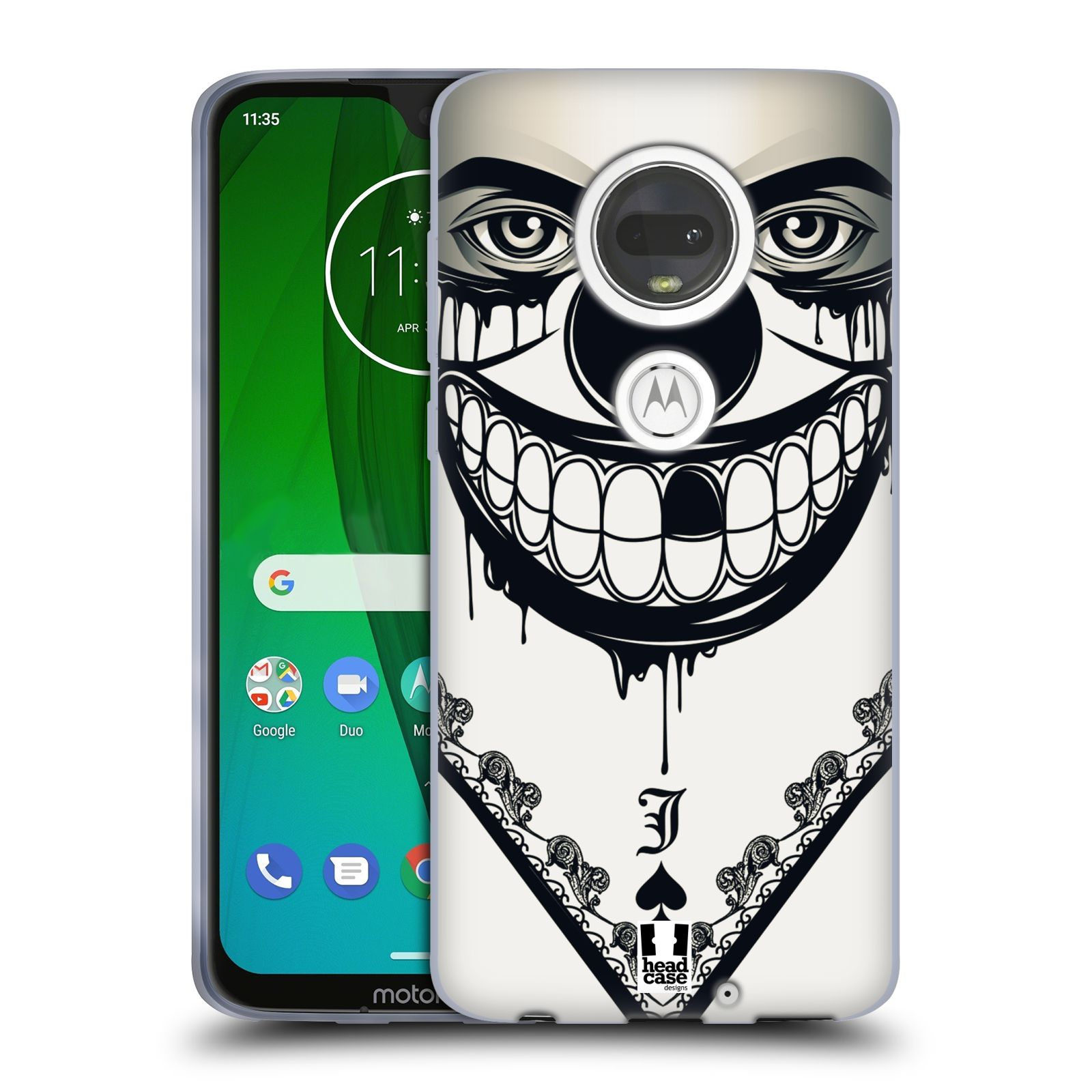 Silikonové pouzdro na mobil Motorola Moto G7 - Head Case - ZLEJ KLAUN