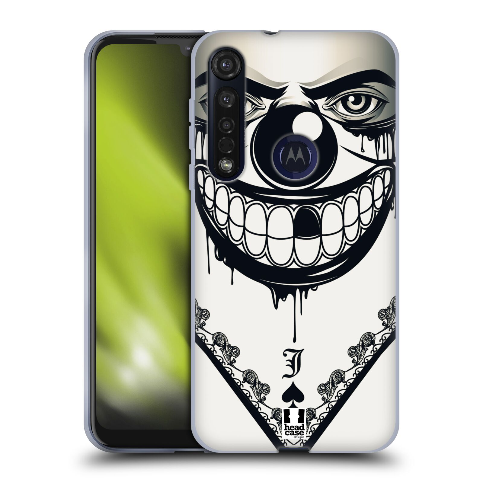 Silikonové pouzdro na mobil Motorola Moto G8 Plus - Head Case - ZLEJ KLAUN