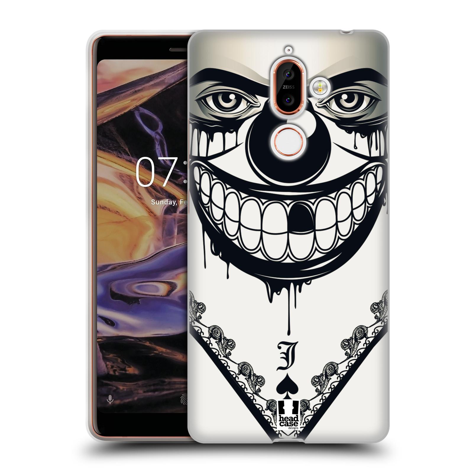 Silikonové pouzdro na mobil Nokia 7 Plus - Head Case - ZLEJ KLAUN