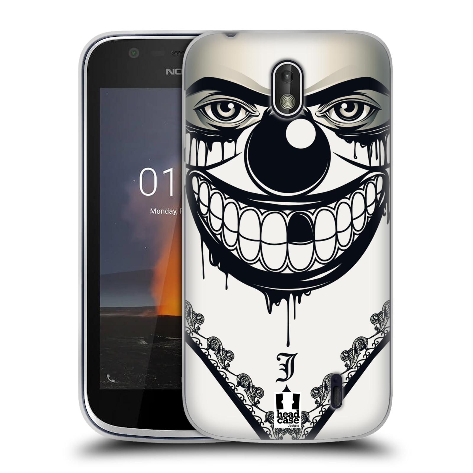 Silikonové pouzdro na mobil Nokia 1 - Head Case - ZLEJ KLAUN