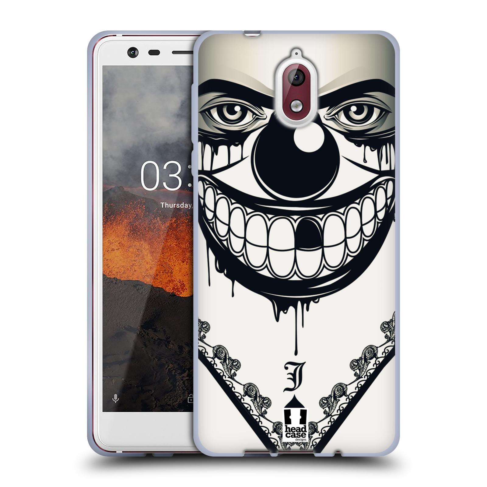 Silikonové pouzdro na mobil Nokia 3.1 - Head Case - ZLEJ KLAUN