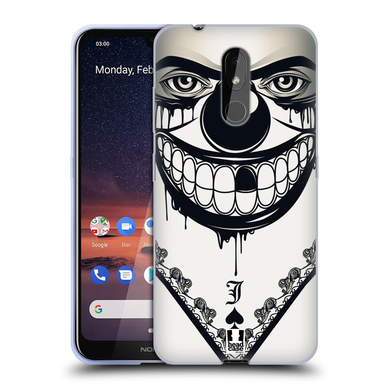 Silikonové pouzdro na mobil Nokia 3.2 - Head Case - ZLEJ KLAUN