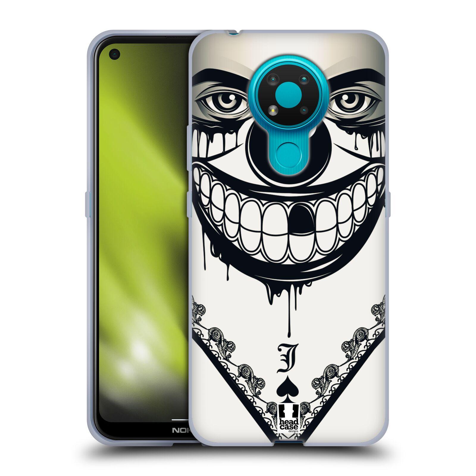 Silikonové pouzdro na mobil Nokia 3.4 - Head Case - ZLEJ KLAUN